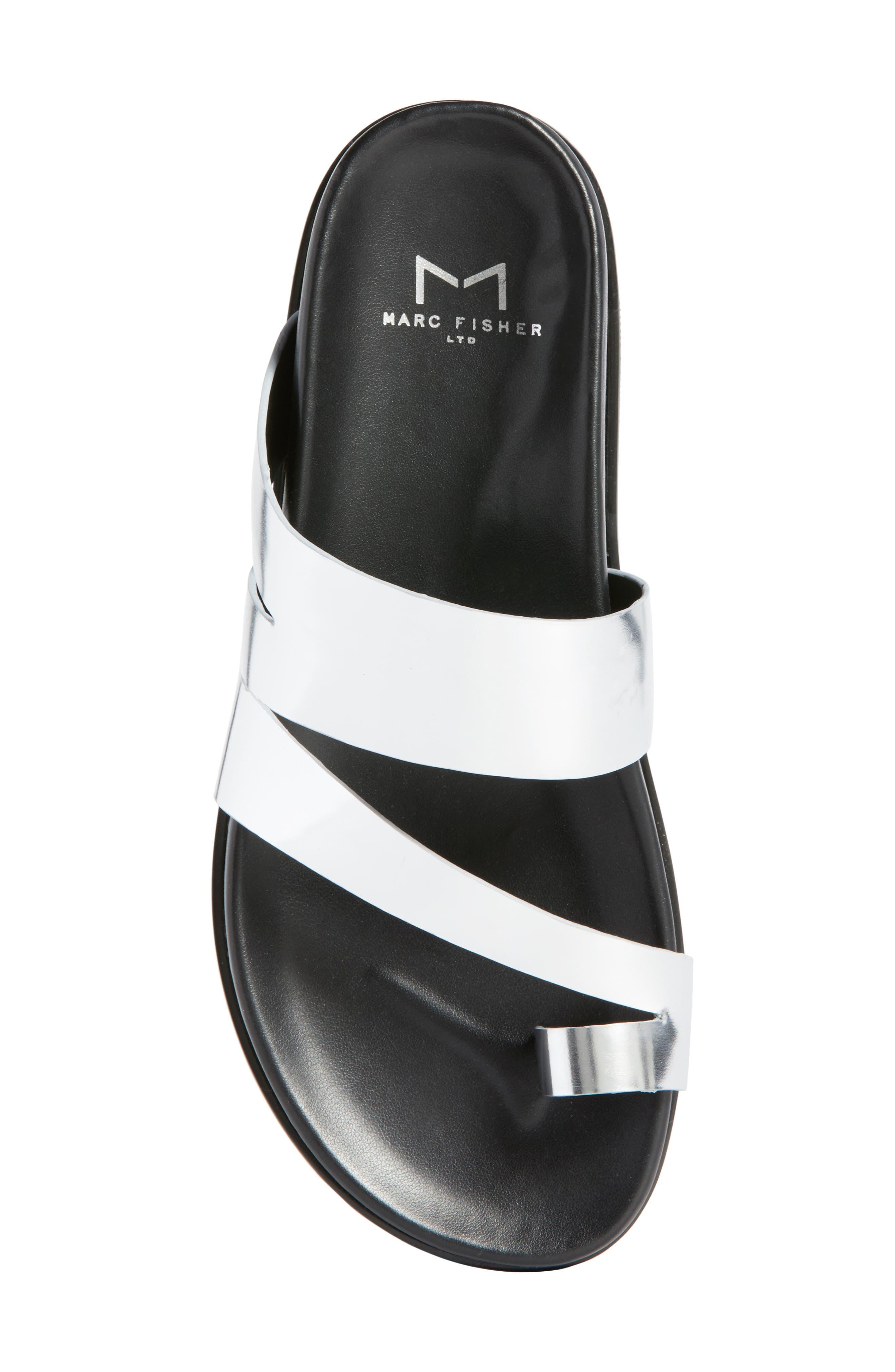 Yamini Sandal,                             Alternate thumbnail 5, color,                             Silver Leather