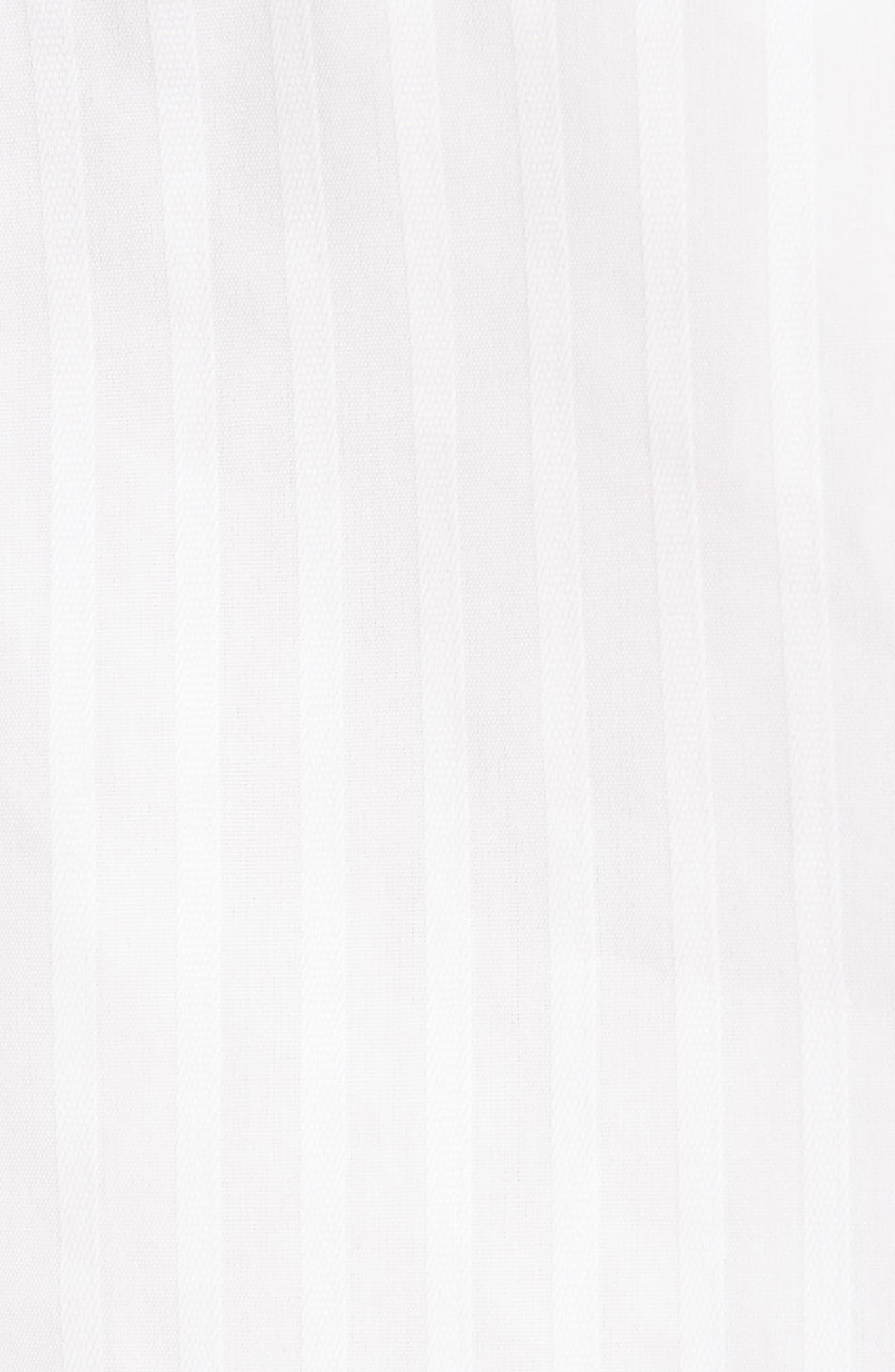 Asymmetrical One-Shoulder Blouse,                             Alternate thumbnail 5, color,                             White