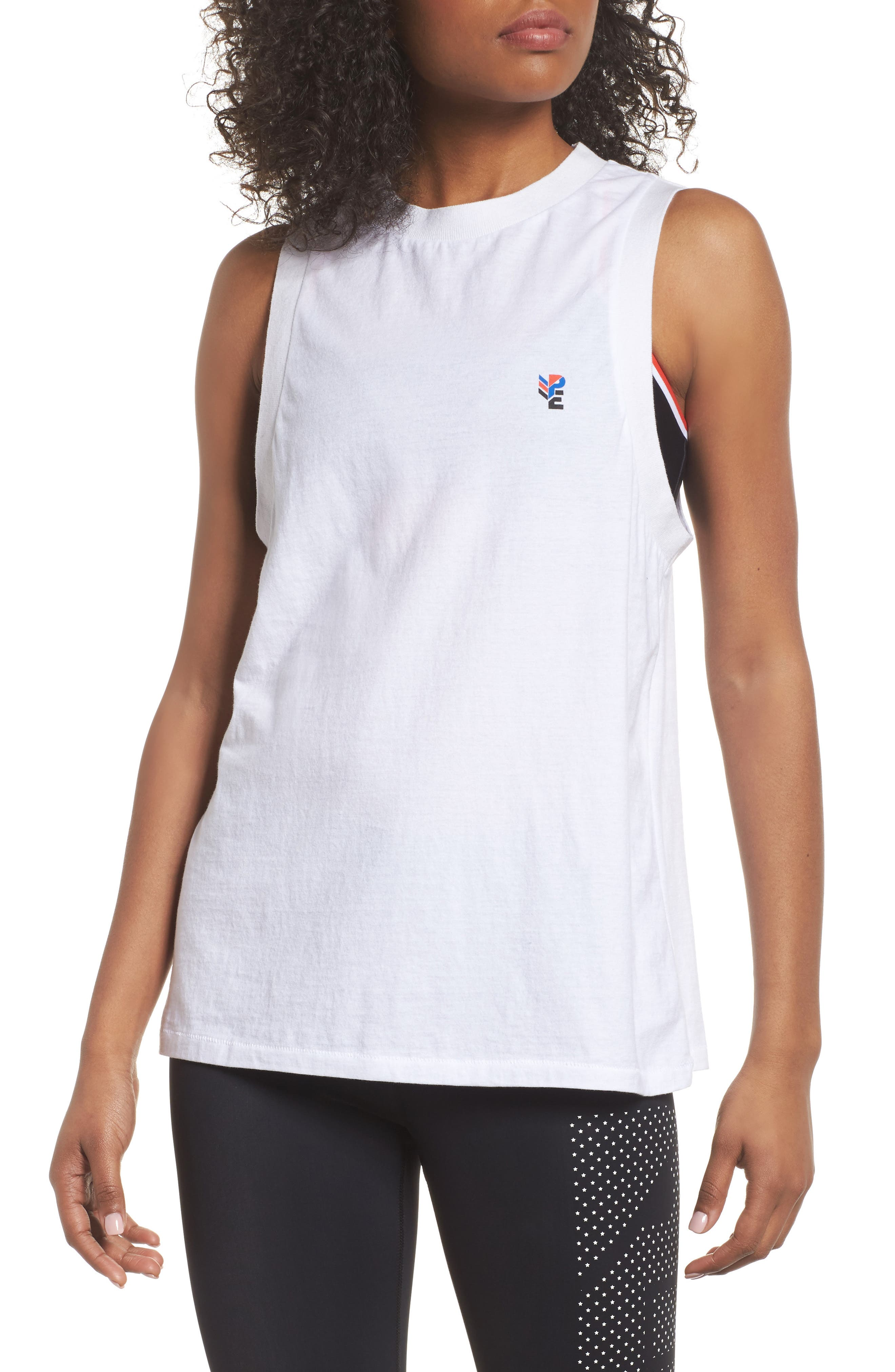 Sucker Punch Graphic Tank,                         Main,                         color, White