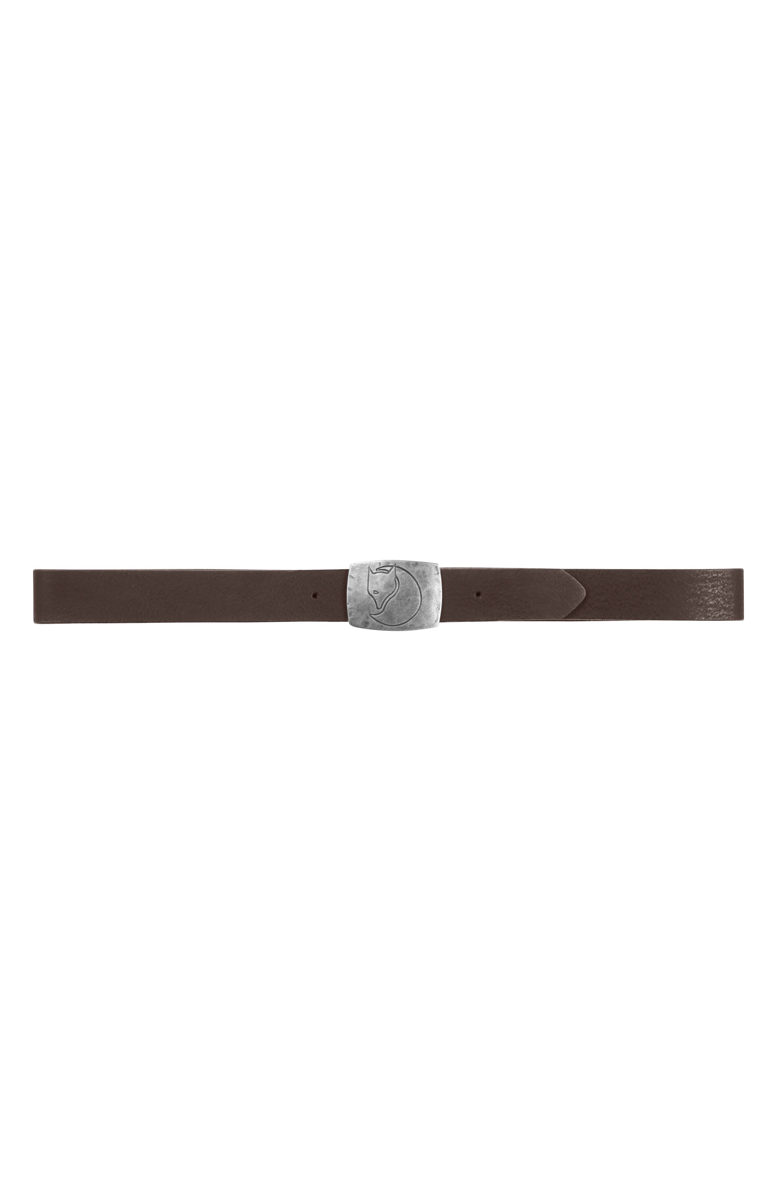 Murena Leather Belt,                             Alternate thumbnail 2, color,                             Leather Brown
