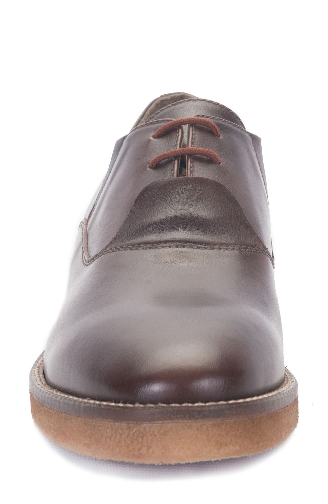 Molinella Water-Resistant Oxford,                             Alternate thumbnail 4, color,                             Ruggine Leather