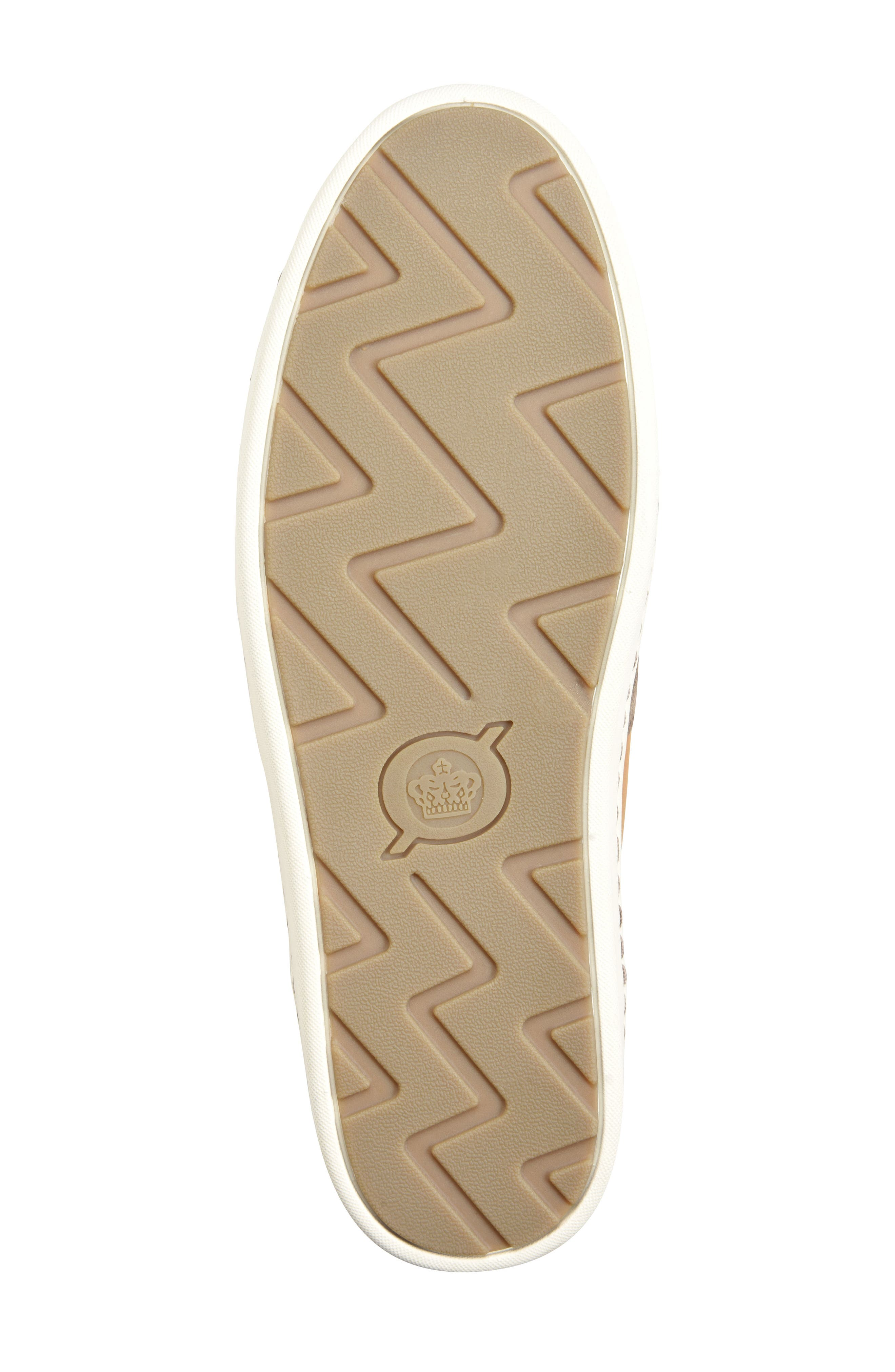 Keystone Low Top Sneaker,                             Alternate thumbnail 6, color,                             Taupe Leather