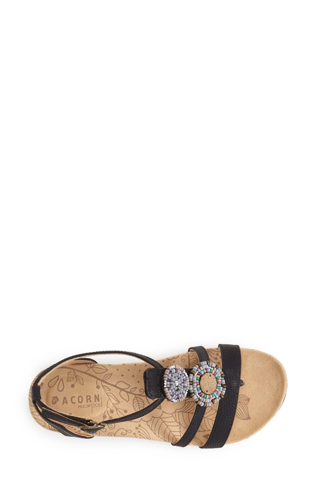Alternate Image 3  - Acorn Ankle Strap Sandal (Women)