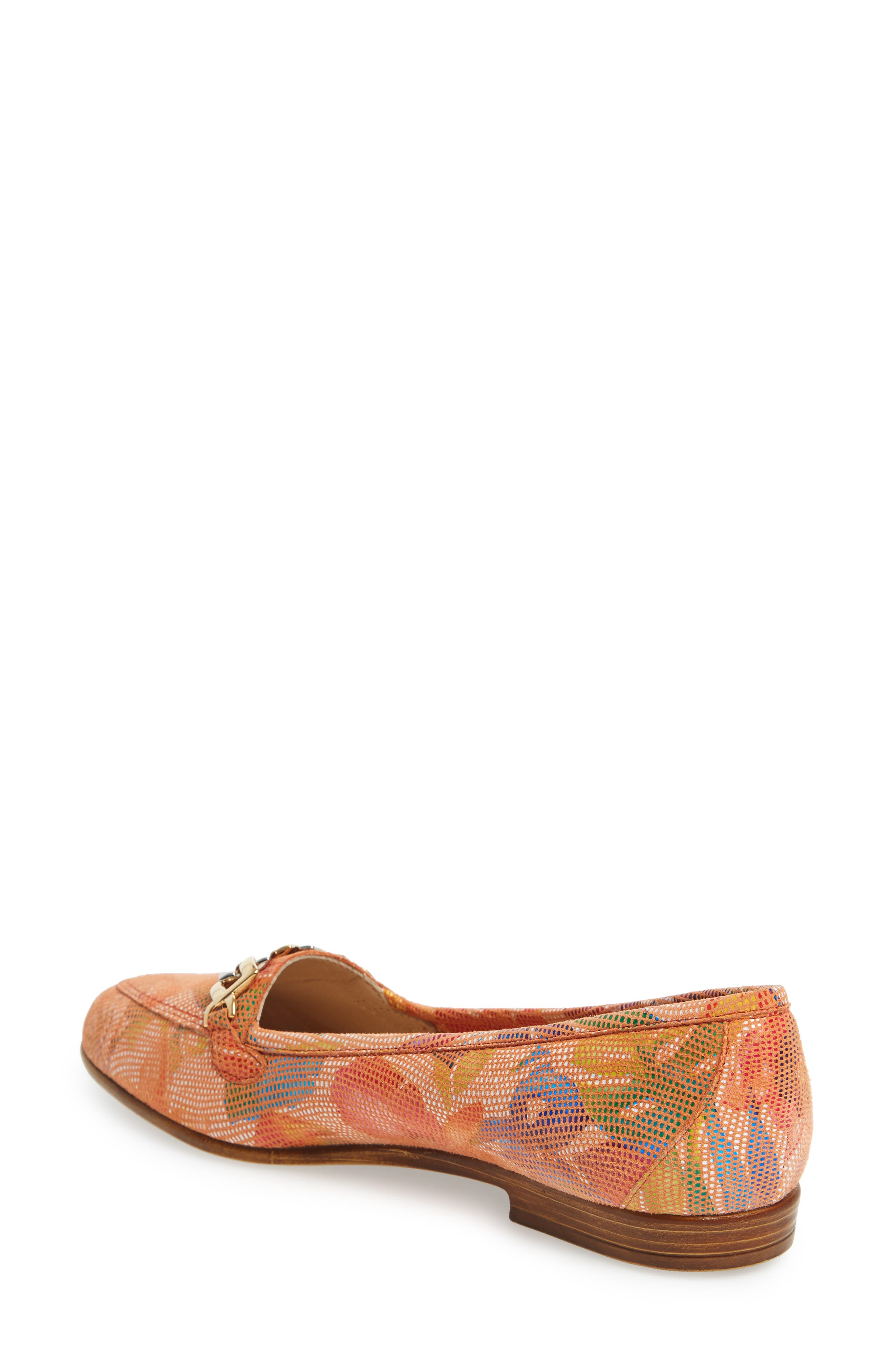 Oste Loafer,                             Alternate thumbnail 2, color,                             Salmon Leather