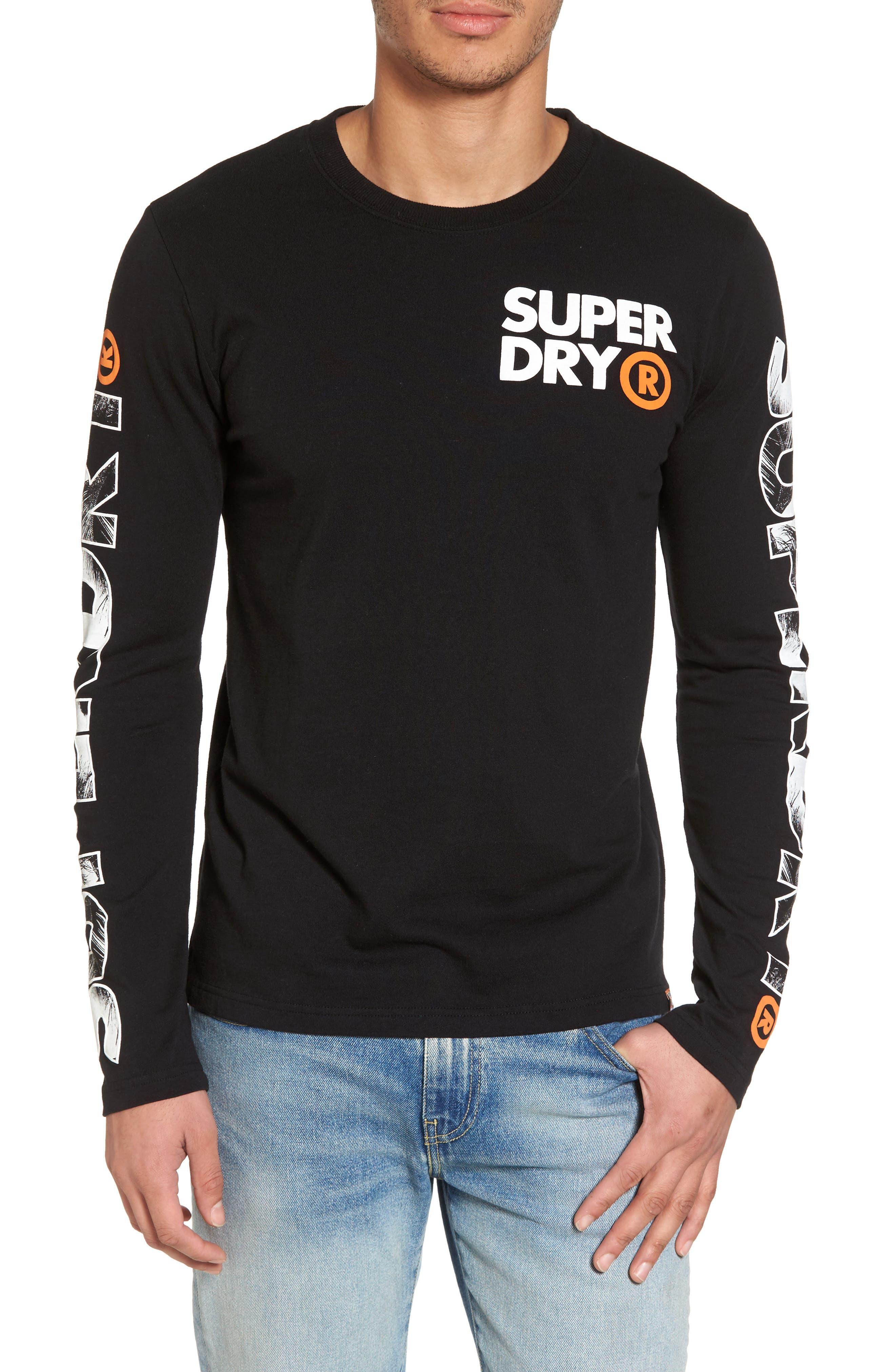 Hyper T-Shirt,                             Main thumbnail 1, color,                             Black