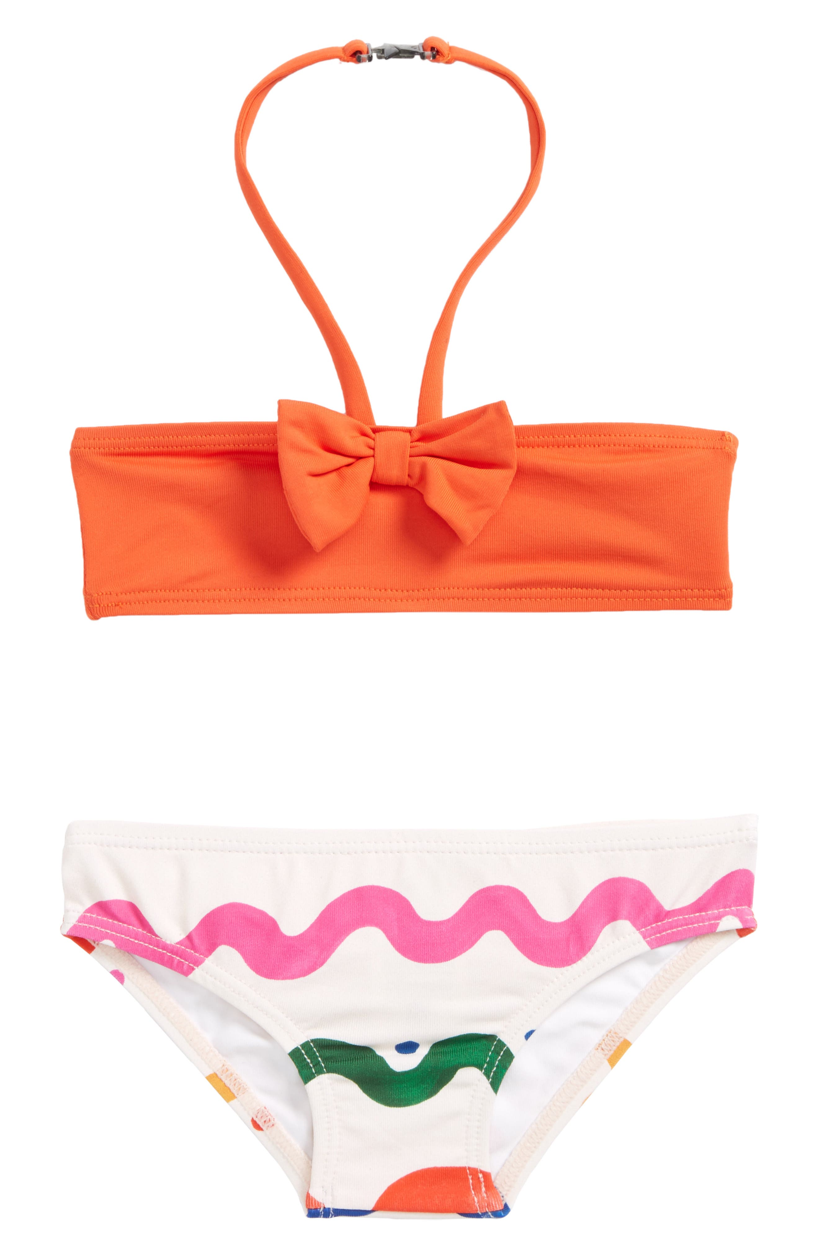 Imaan Two-Piece Swimsuit,                             Main thumbnail 1, color,                             Wiggle Tile Print