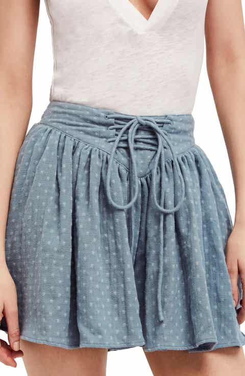 Free People Meet Your Match Skort