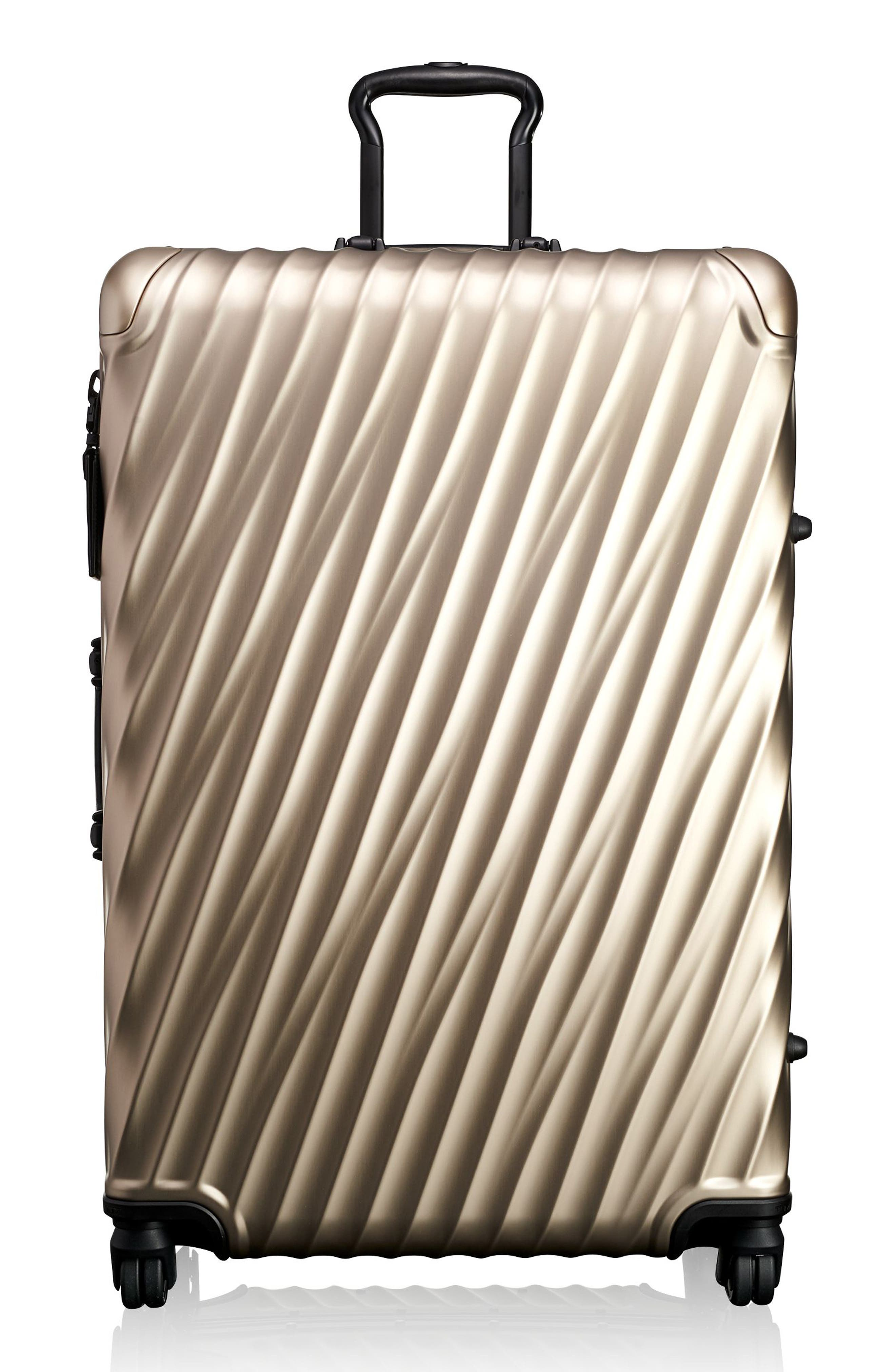 19-Degree 30-Inch Aluminum Spinner Packing Case,                         Main,                         color, Ivory Gold