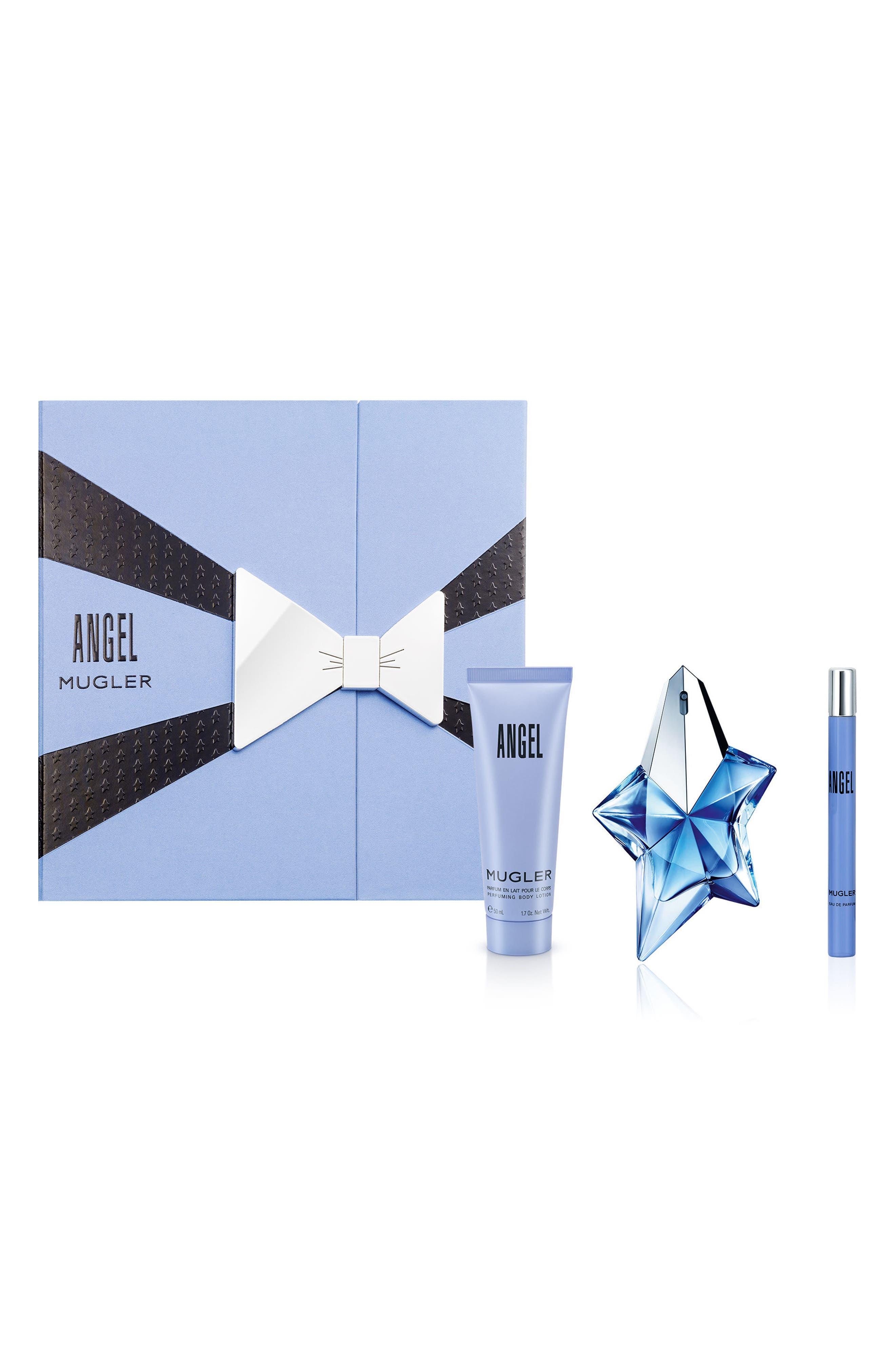 Angel by Mugler Eau de Parfum & Body Lotion Trio ($120 Value)
