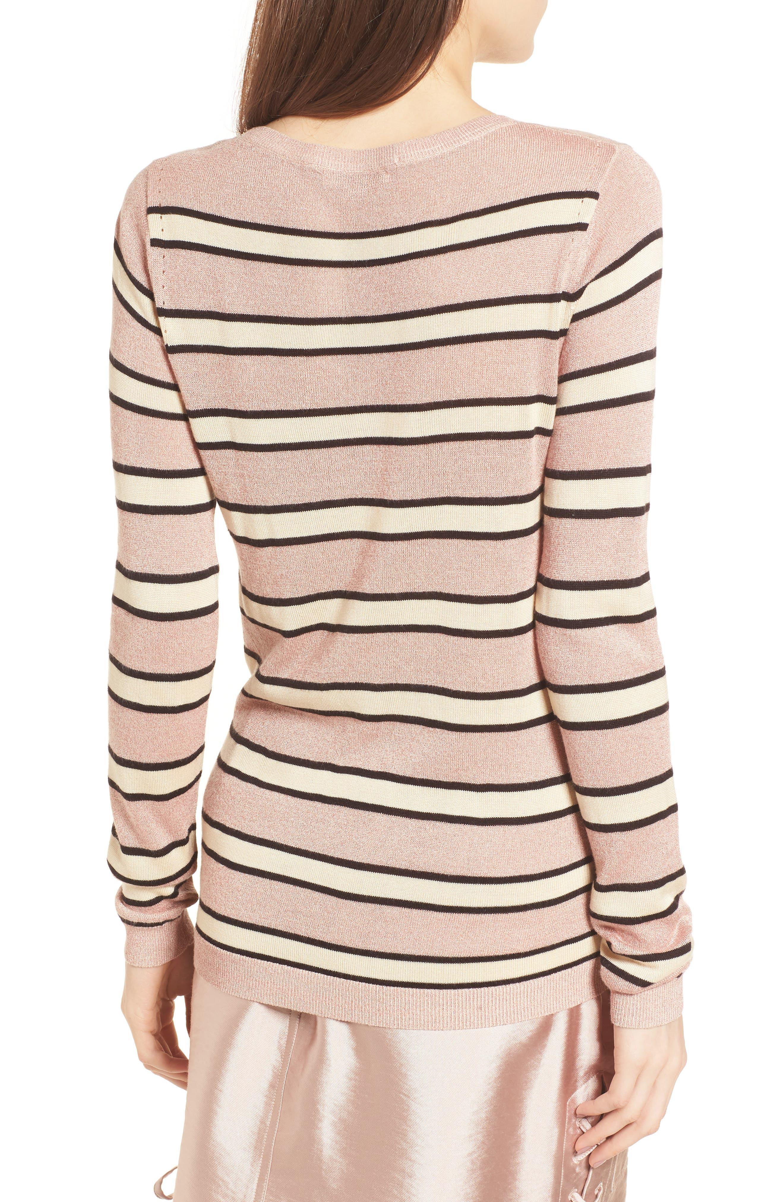 Stripe Sweater,                             Alternate thumbnail 2, color,                             Combo B
