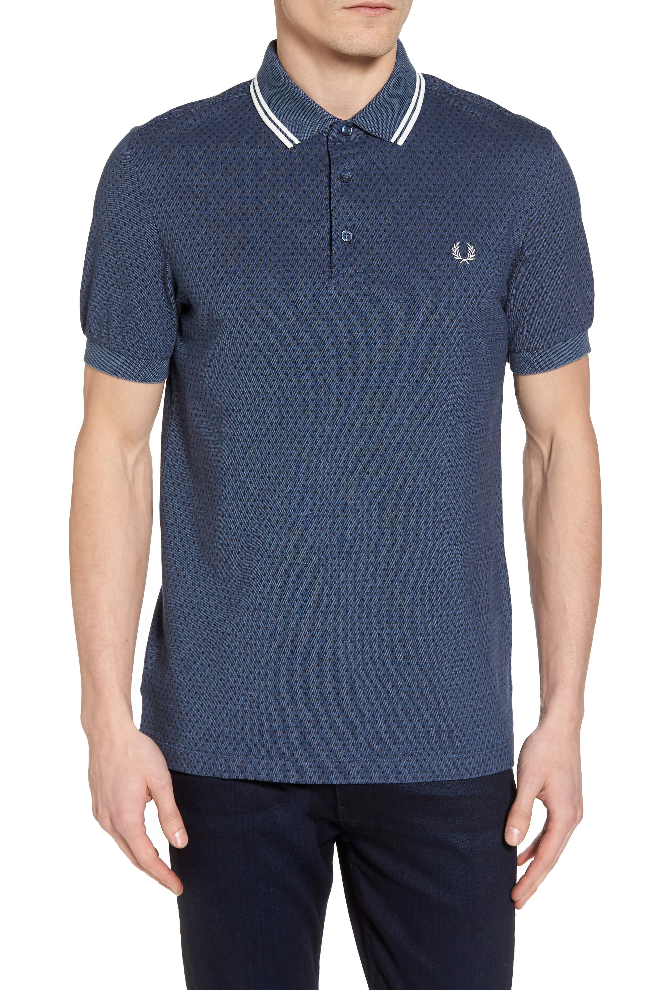 Main Image - Fred Perry Piqué Polo