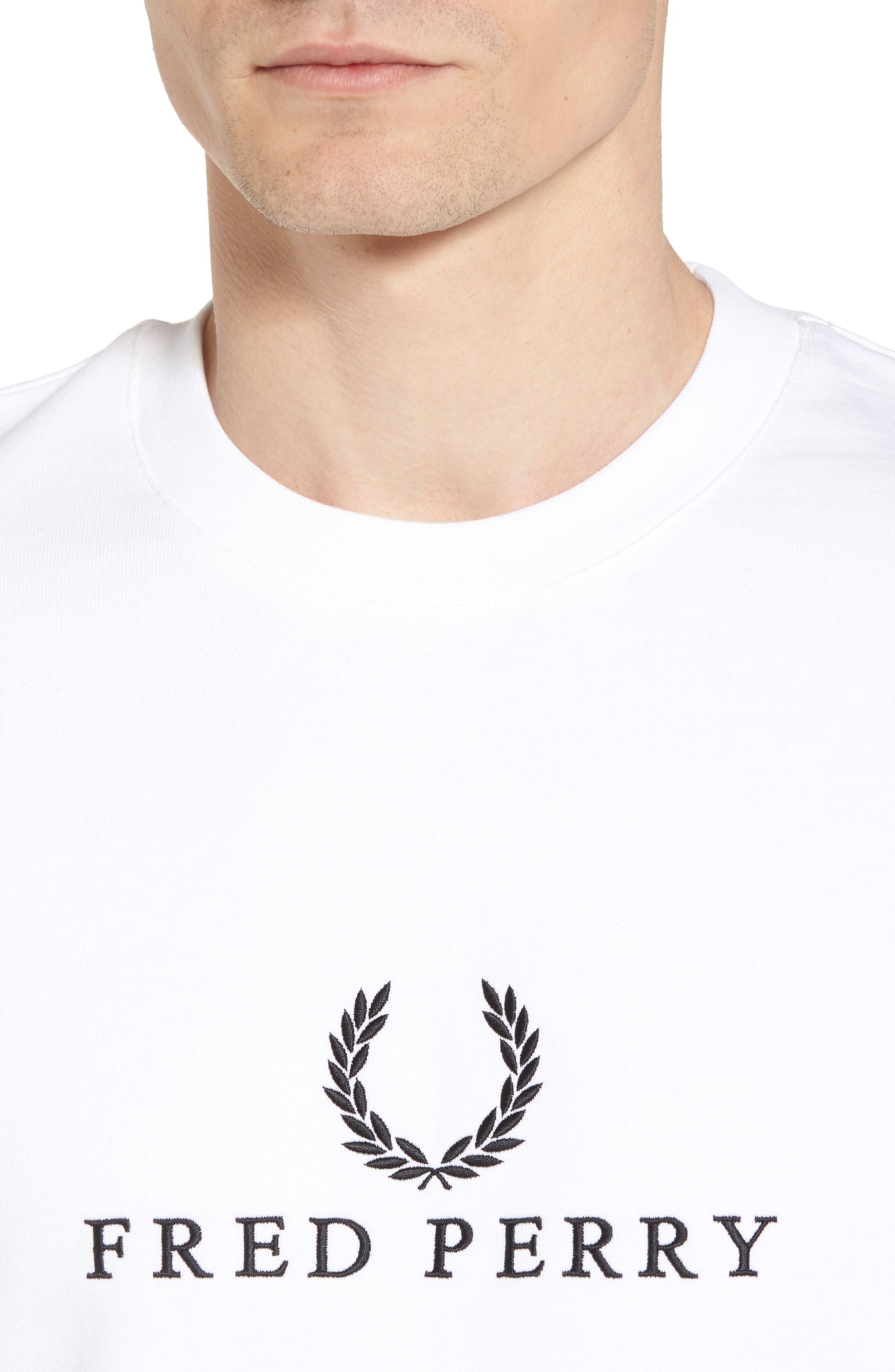 Tennis Sweatshirt,                             Alternate thumbnail 4, color,                             White