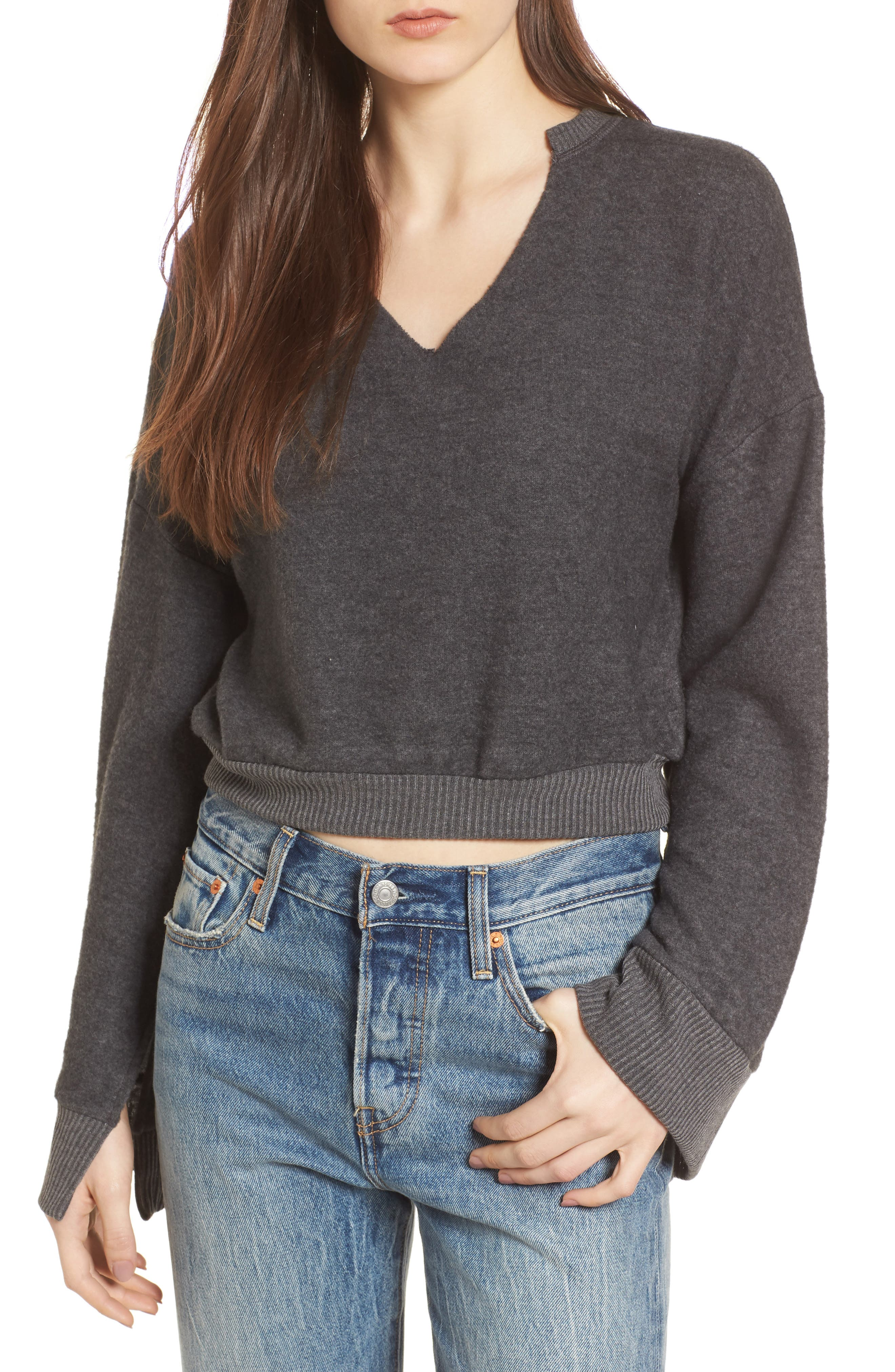 PST by Project Social T Bell Sleeve Sweater