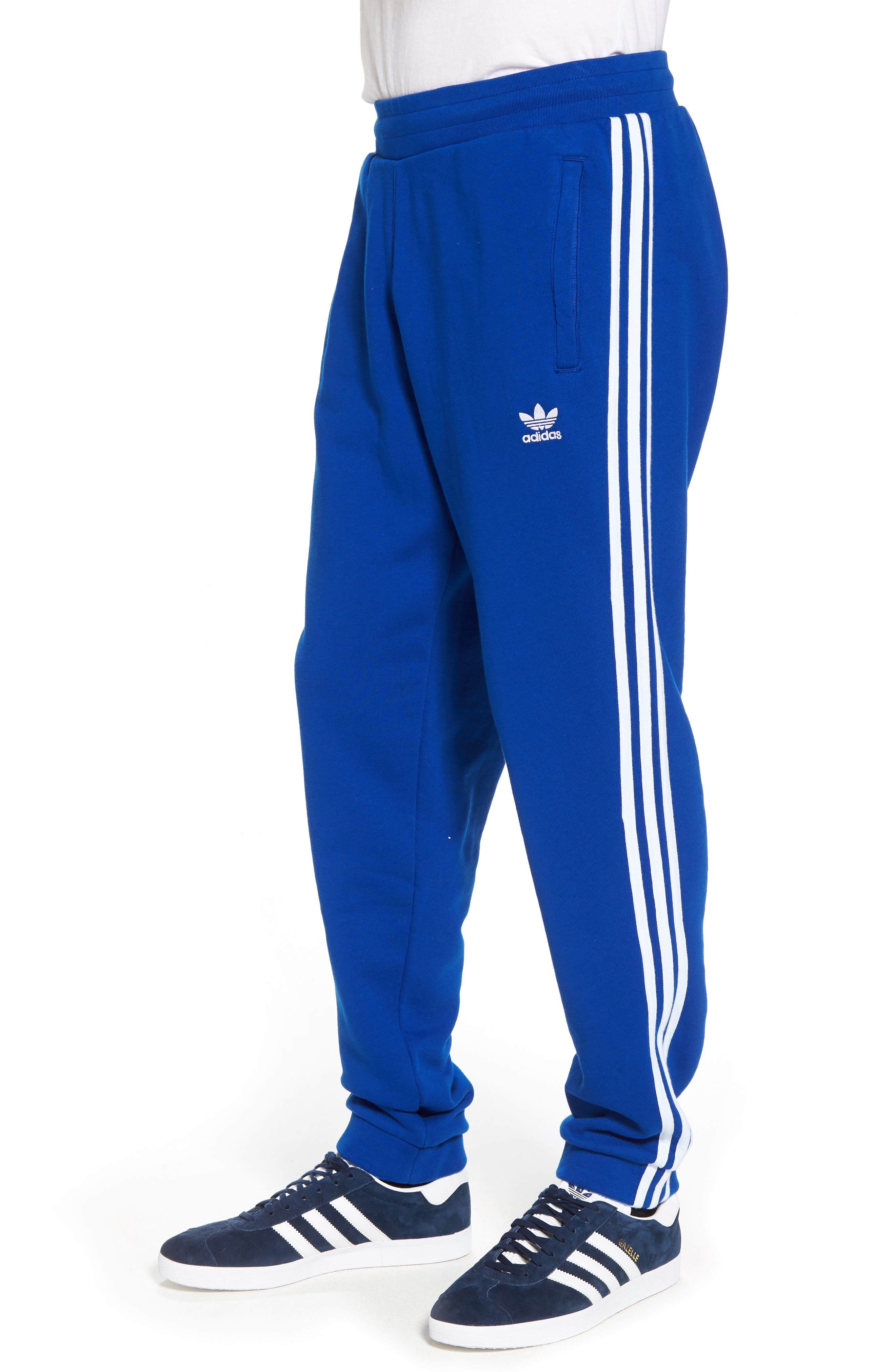 3-Stripes Sweatpants,                             Alternate thumbnail 3, color,                             Collegiate Royal
