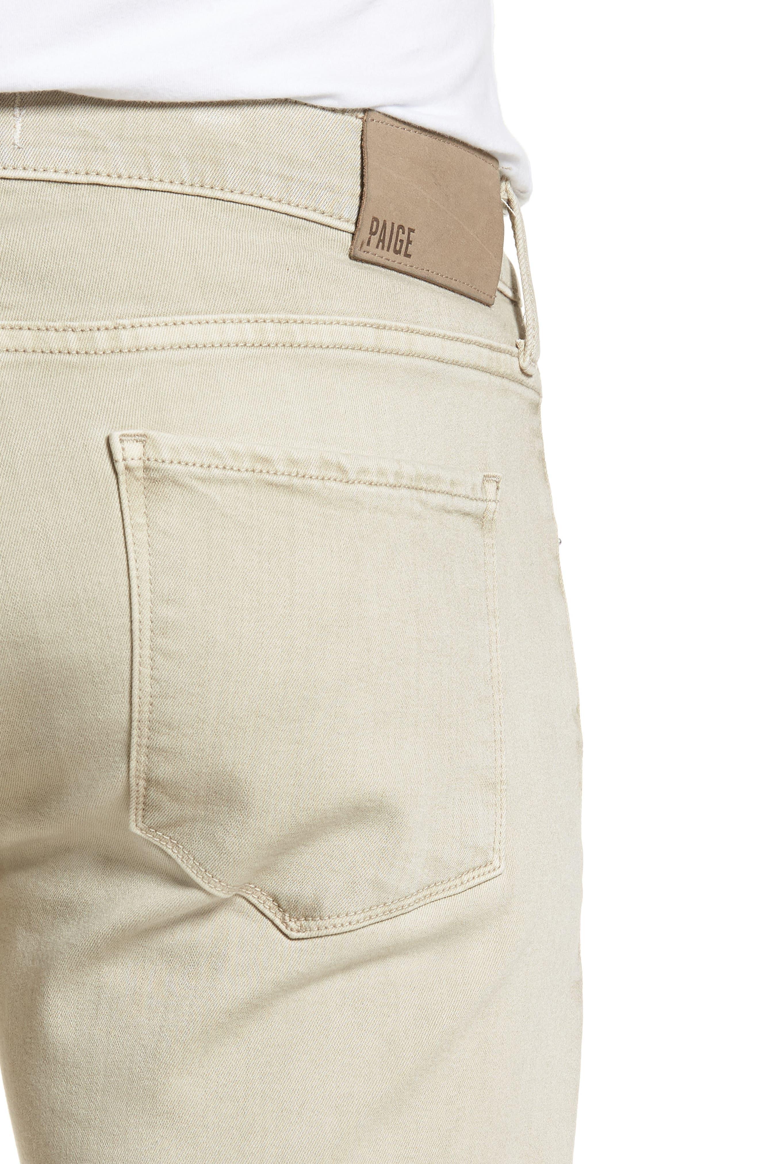 Federal Slim Straight Leg Jeans,                             Alternate thumbnail 4, color,                             Vintage Pebble