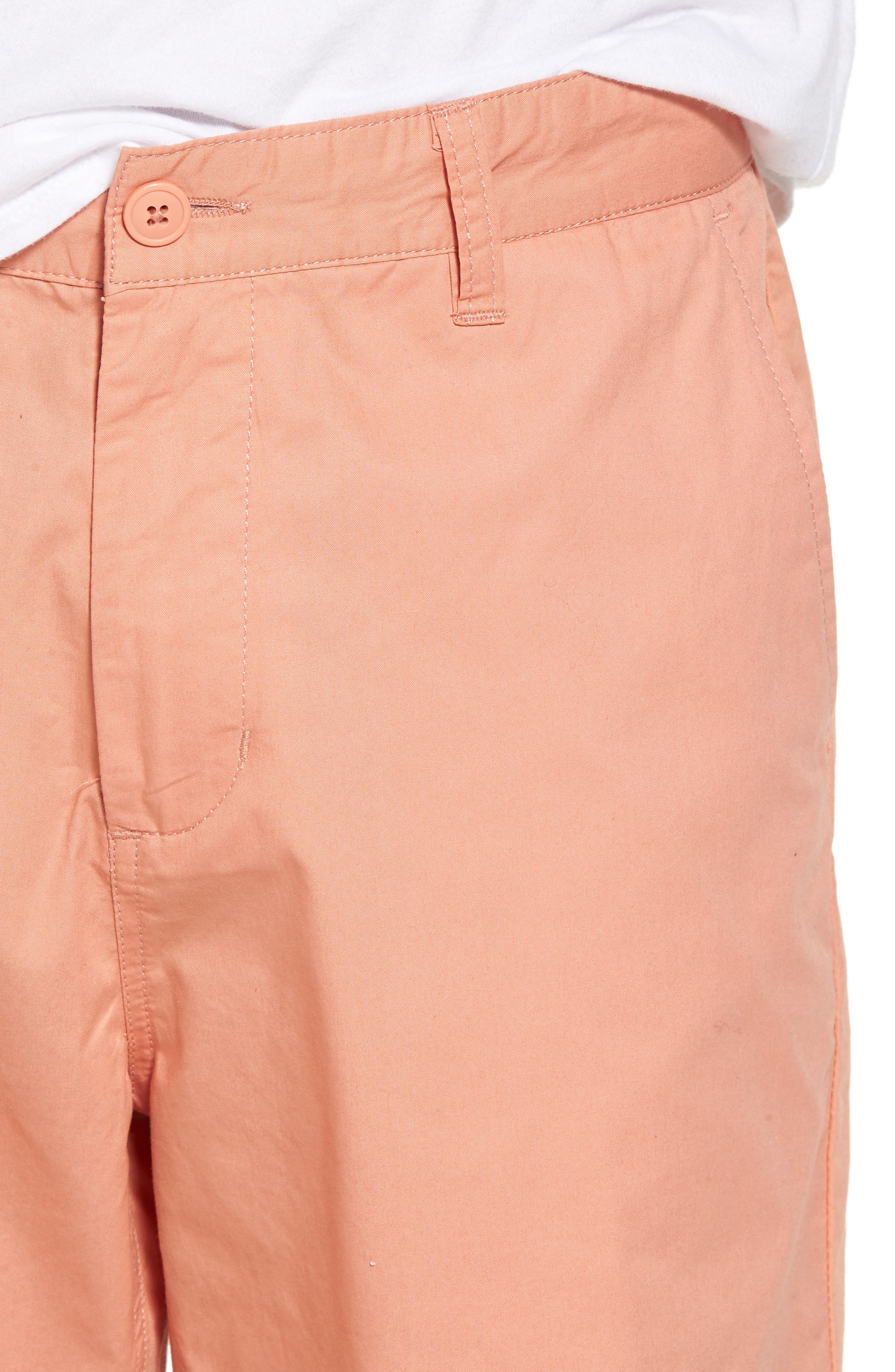 Straggler Light Shorts,                             Alternate thumbnail 4, color,                             Dusty Rose