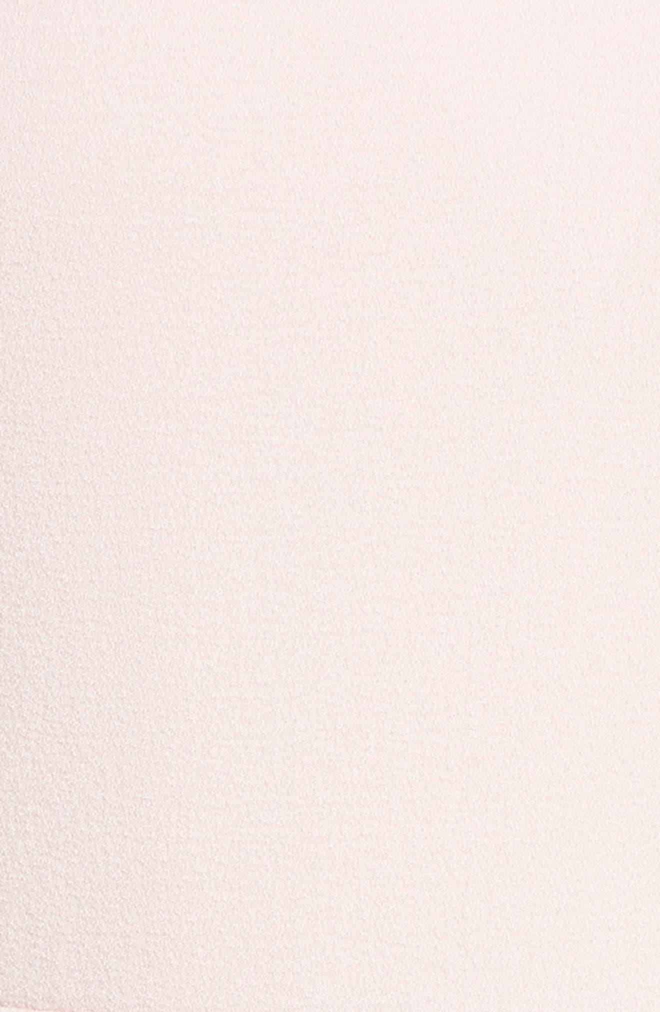 Bow Shoulder Jumpsuit,                             Alternate thumbnail 5, color,                             Pink Potpourri