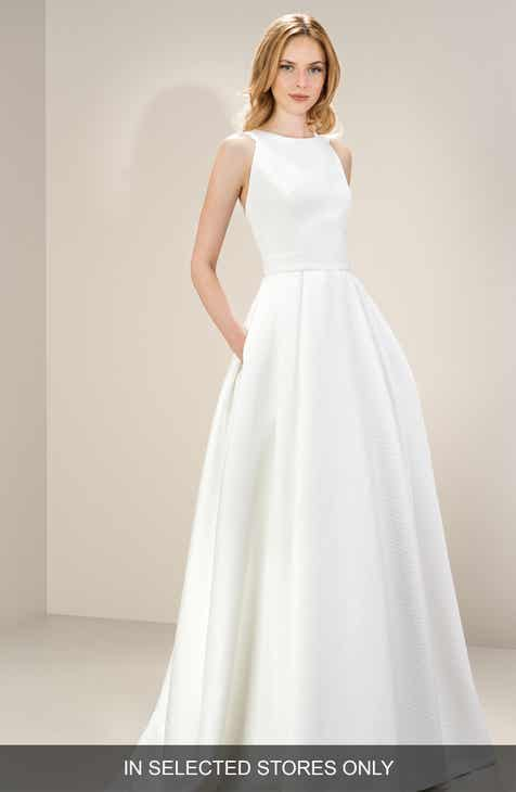 9e0294dceef9e Satin Wedding Dresses & Bridal Gowns | Nordstrom