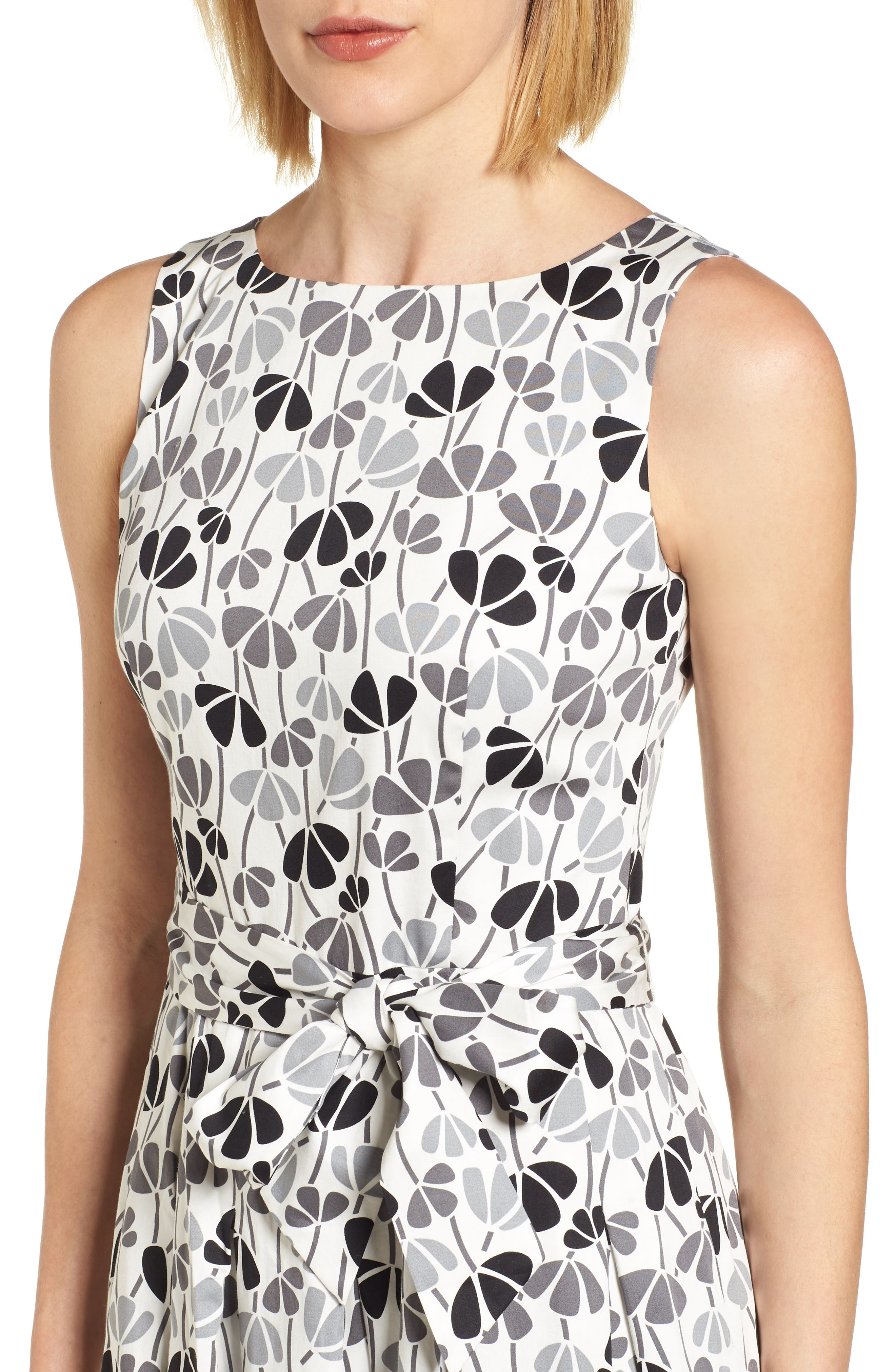 Alternate Image 4  - Anne Klein New York Flowerfall Fit and Flare Dress