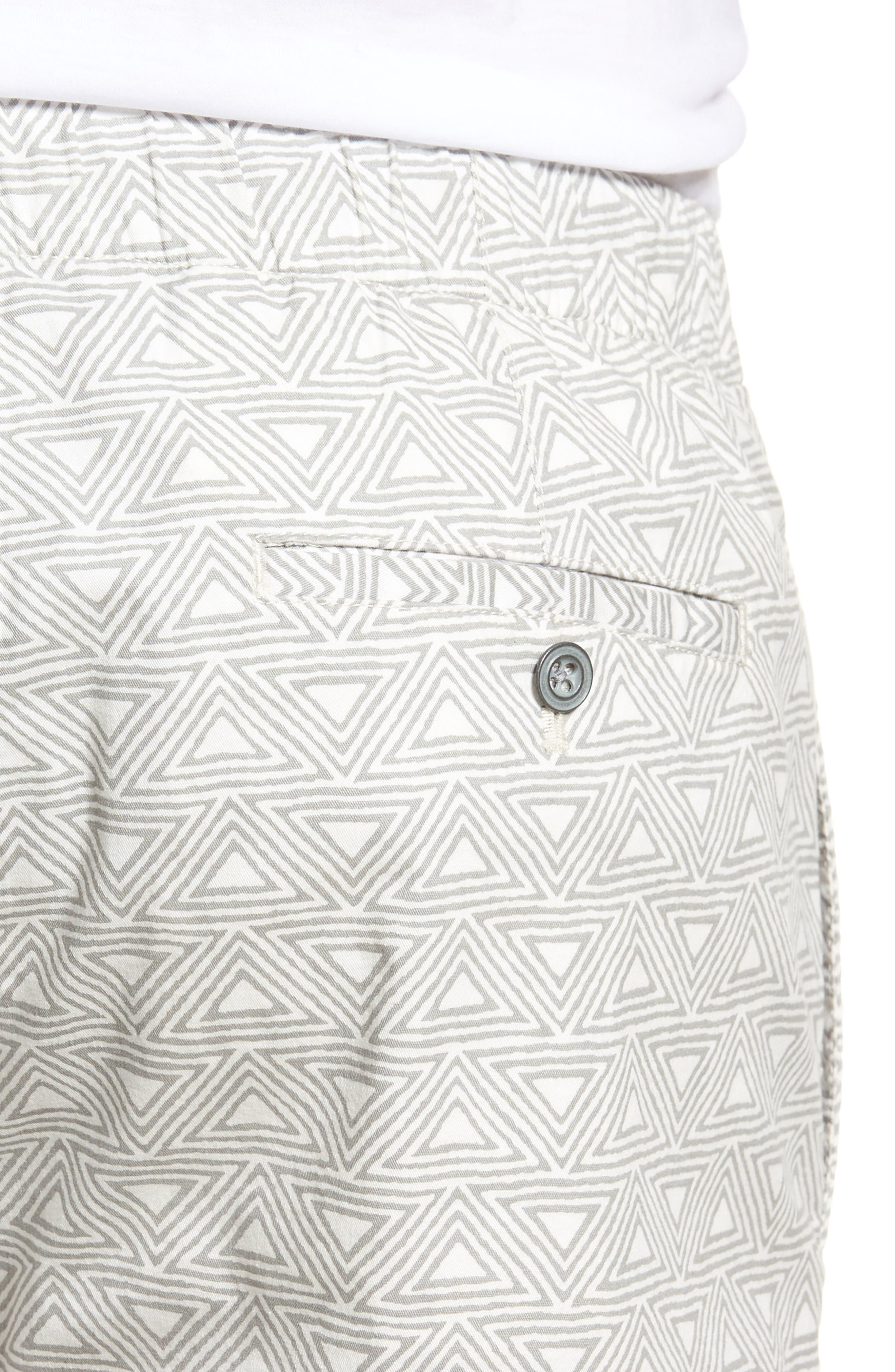 Print Shorts,                             Alternate thumbnail 4, color,                             Hang Ten Geo