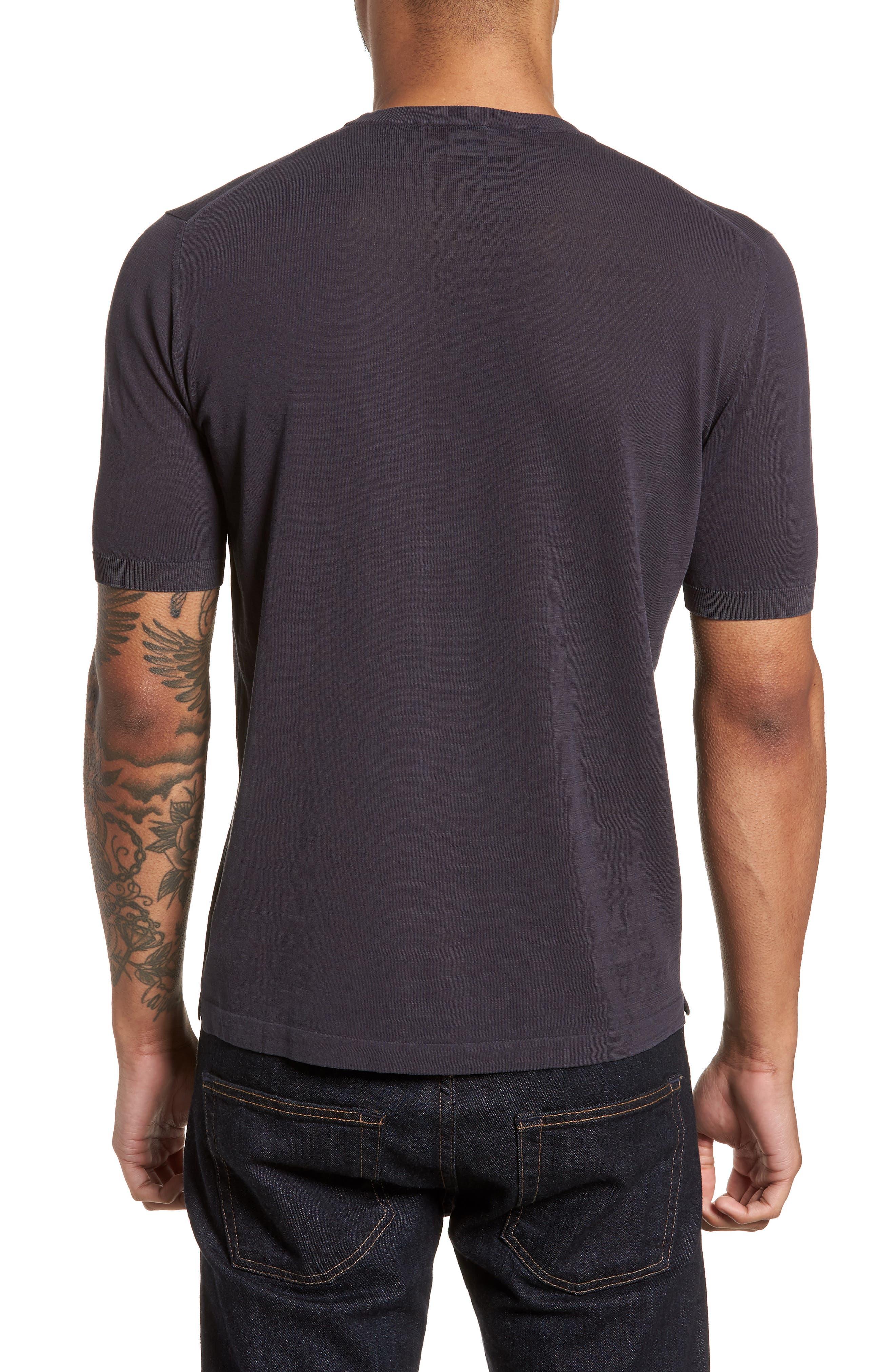 Alternate Image 2  - Eleventy Fresco Crewneck Cotton T-Shirt