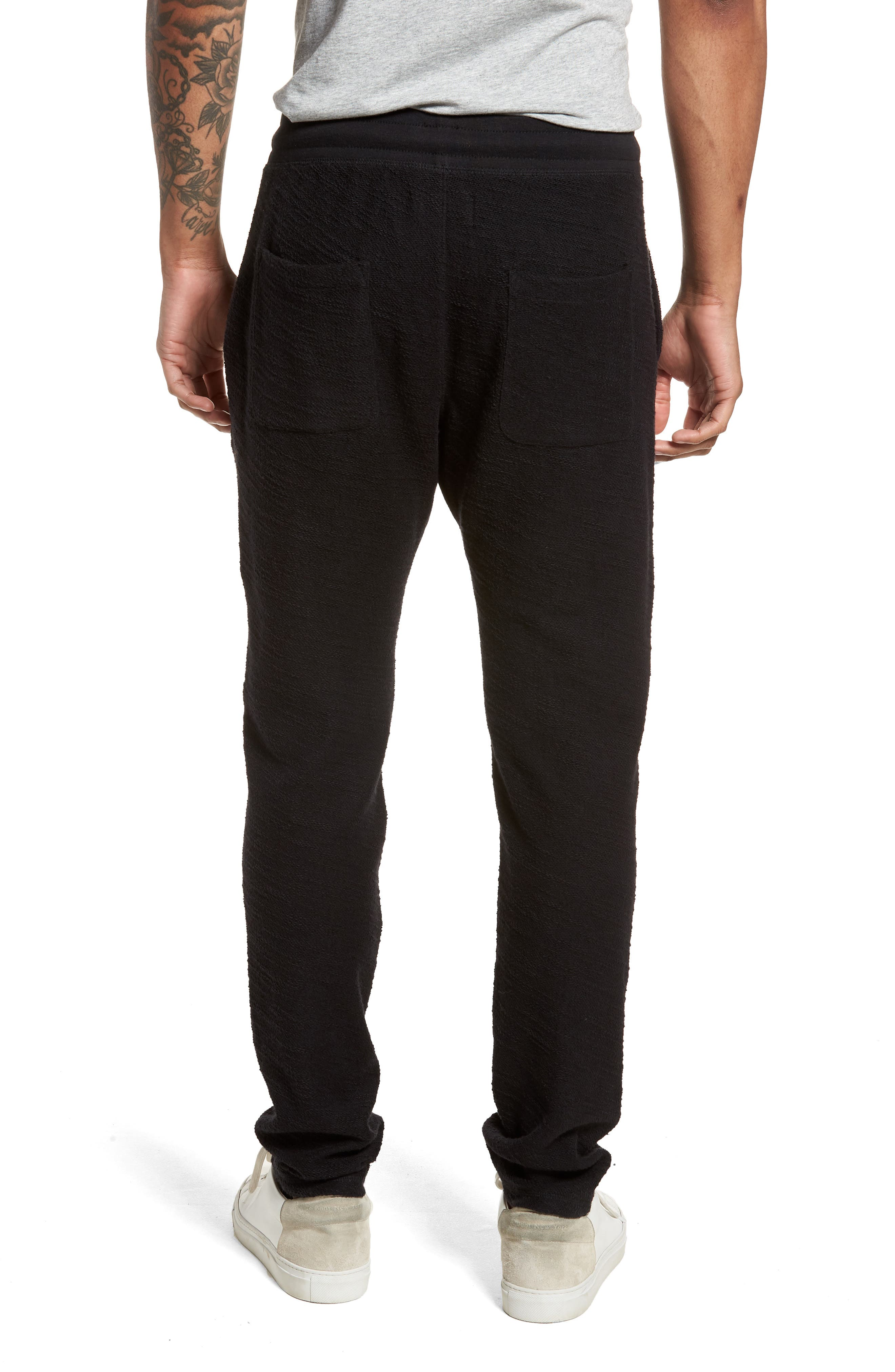 Alternate Image 2  - Goodlife Terry Cloth Cotton Blend Pants