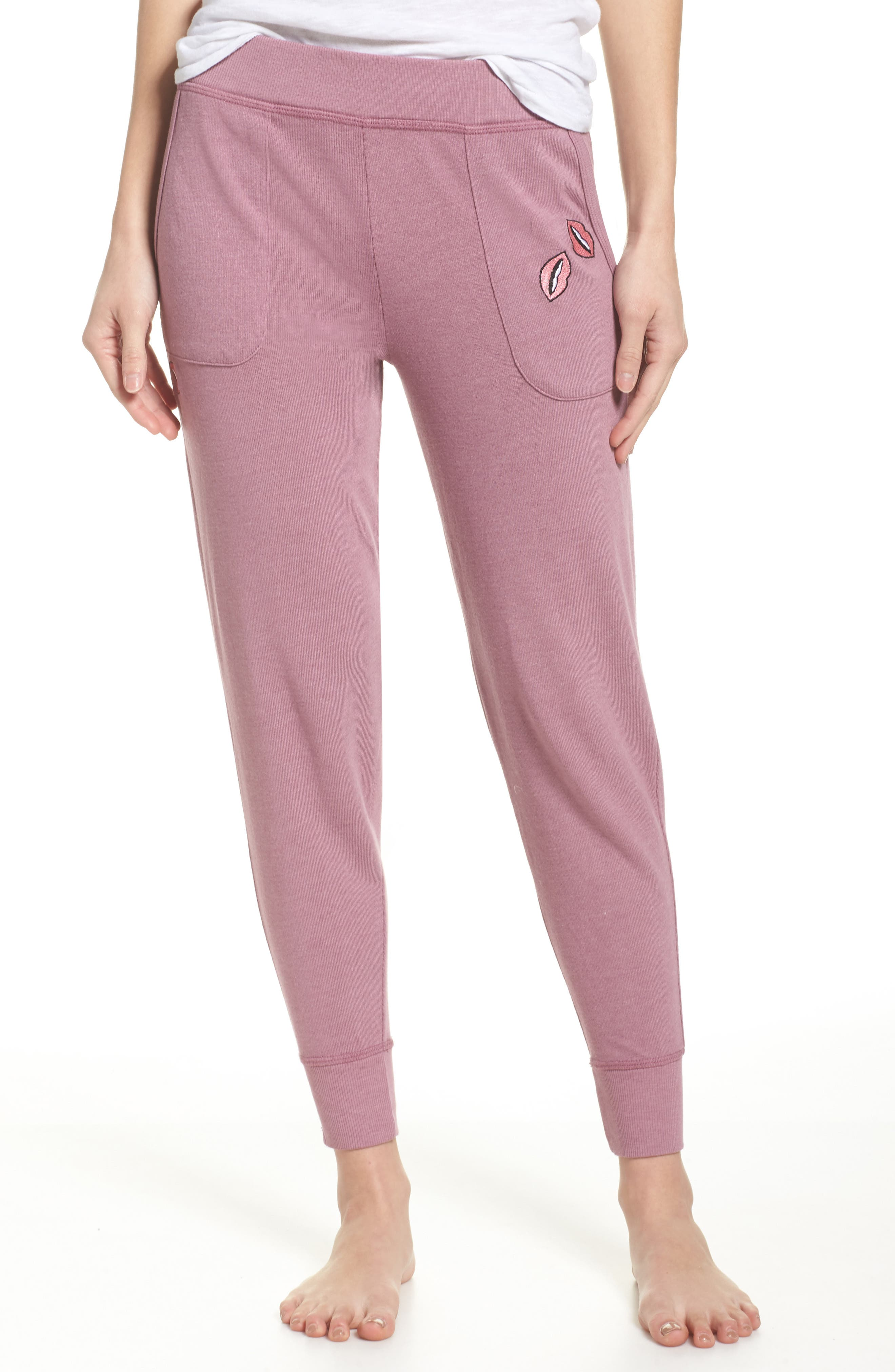 Junkfood Girl Talk Jogger Pants,                         Main,                         color, Dawn