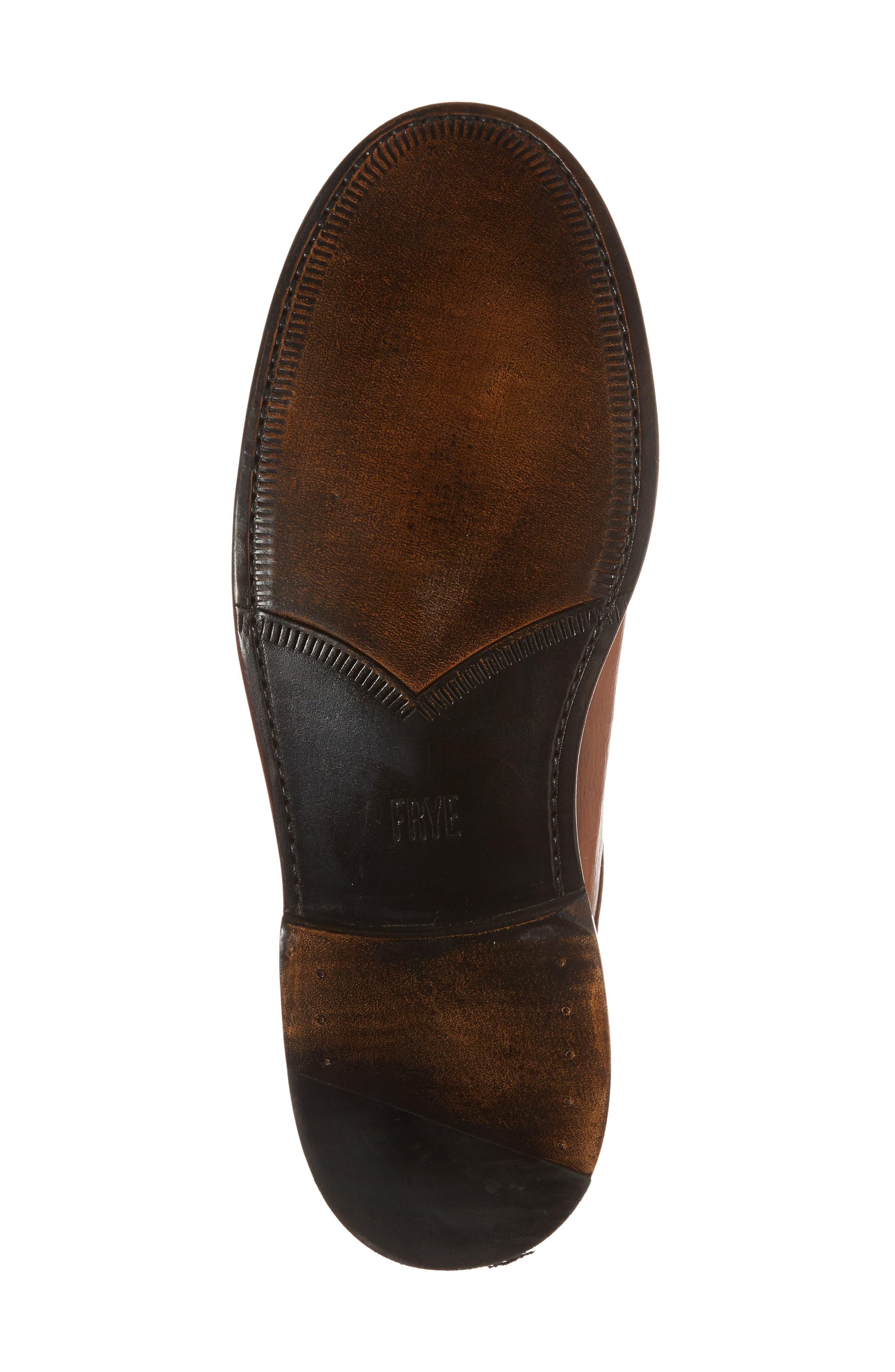 Jones Chelsea Boot,                             Alternate thumbnail 6, color,                             Caramel Leather