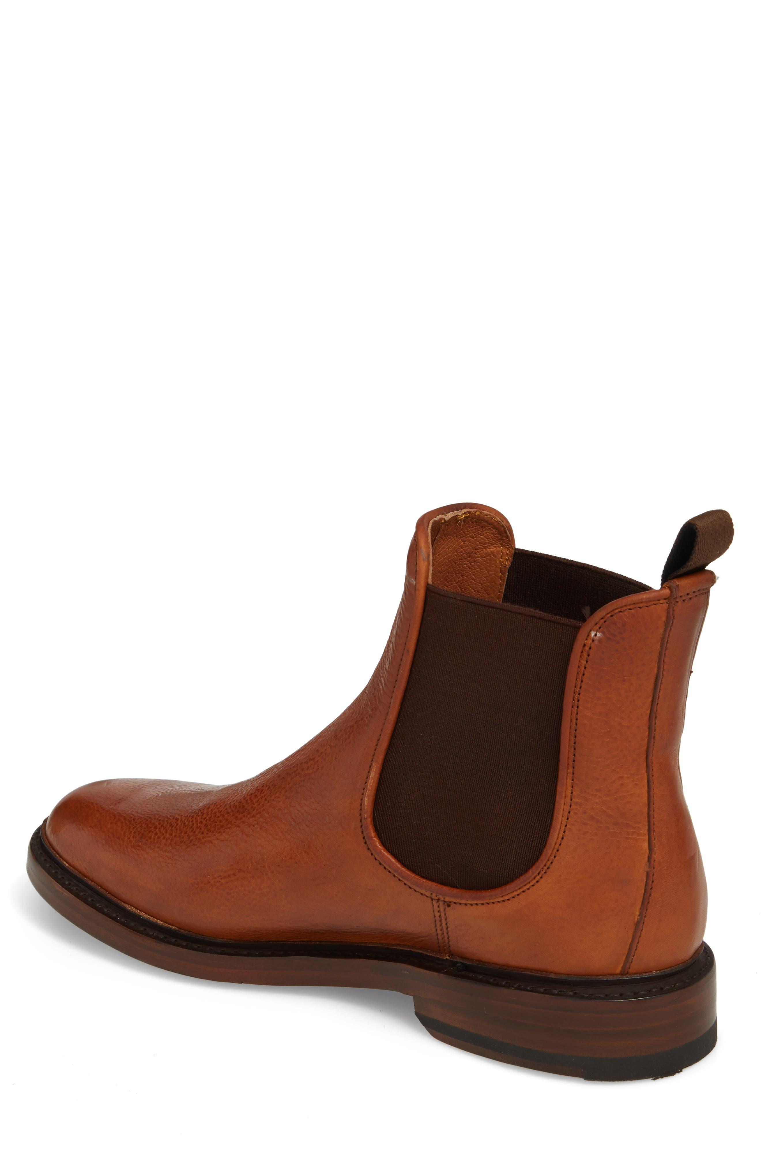 Jones Chelsea Boot,                             Alternate thumbnail 2, color,                             Caramel Leather