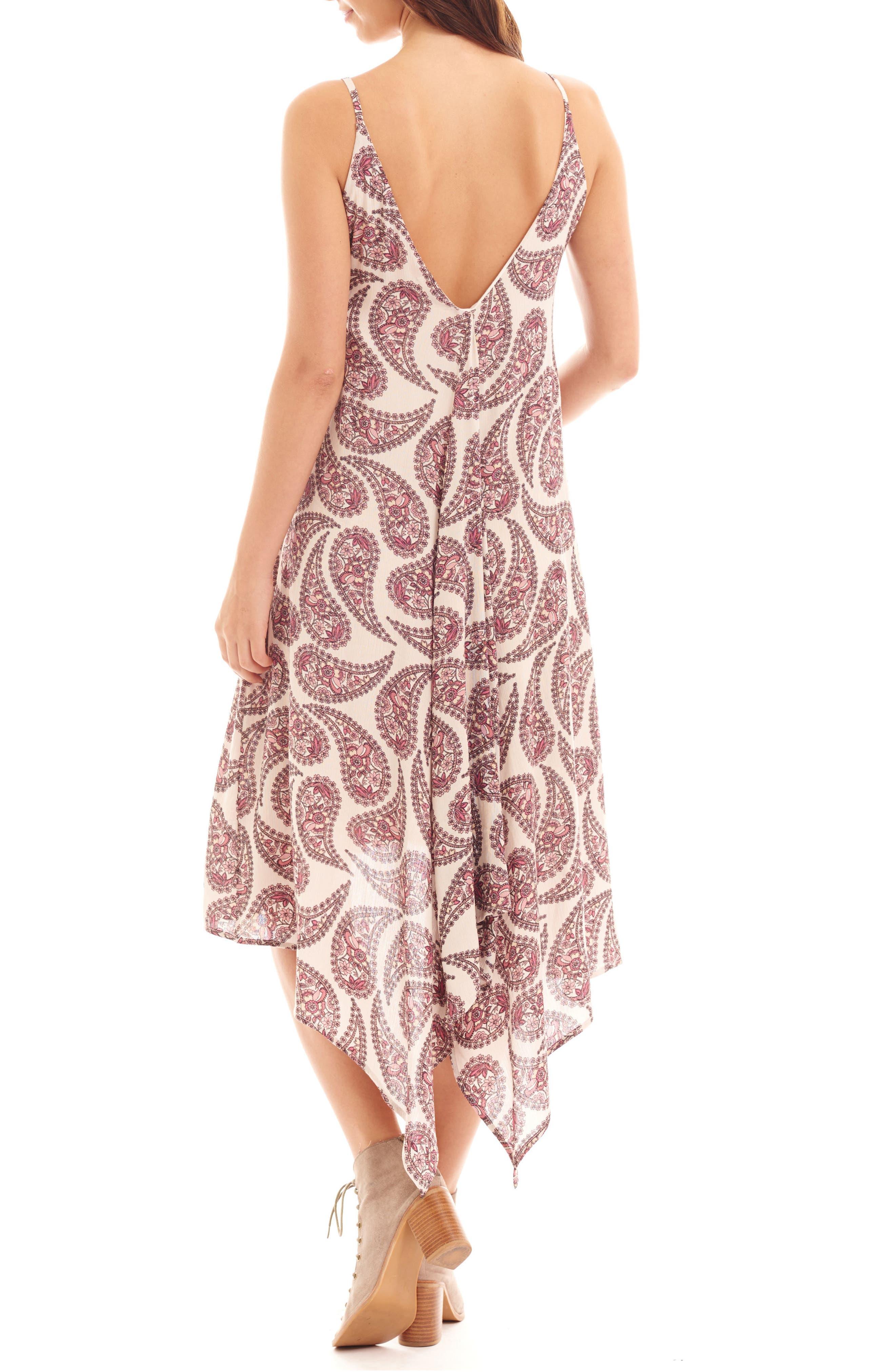 Birgit Maternity/Nursing Dress,                             Alternate thumbnail 2, color,                             Cream Paisley