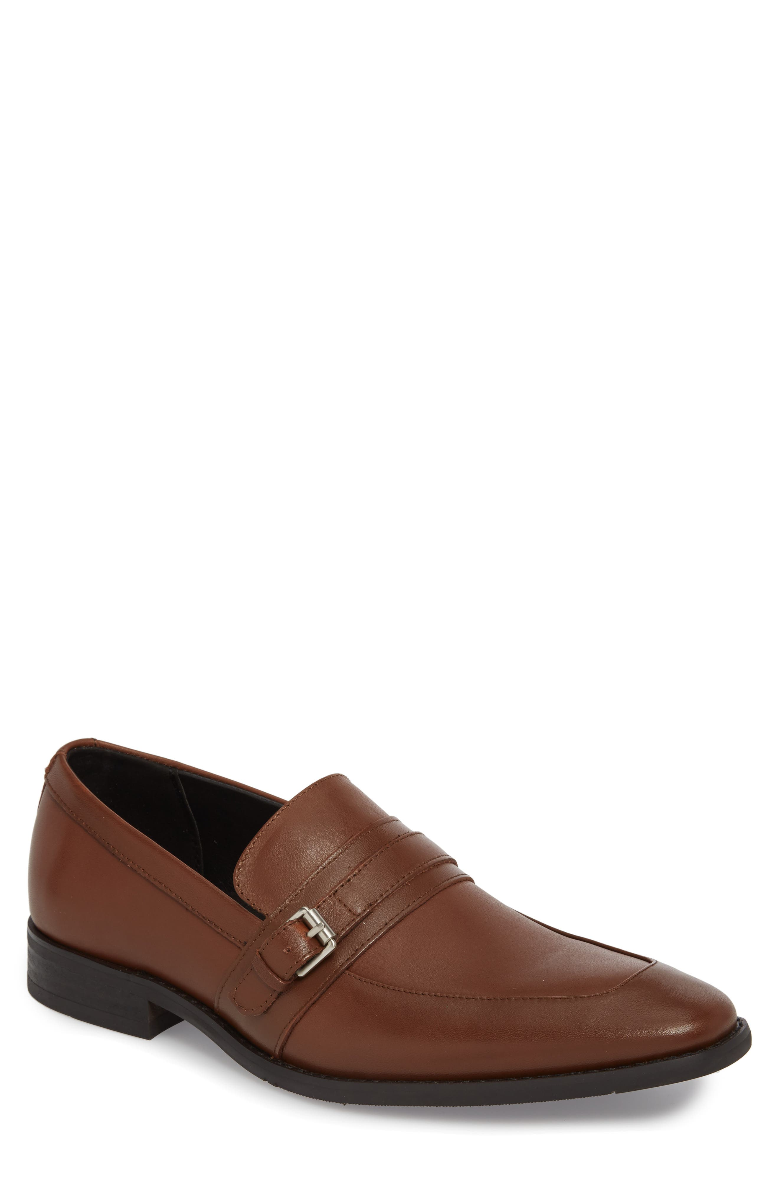 Reyes Loafer,                         Main,                         color, Tan Leather