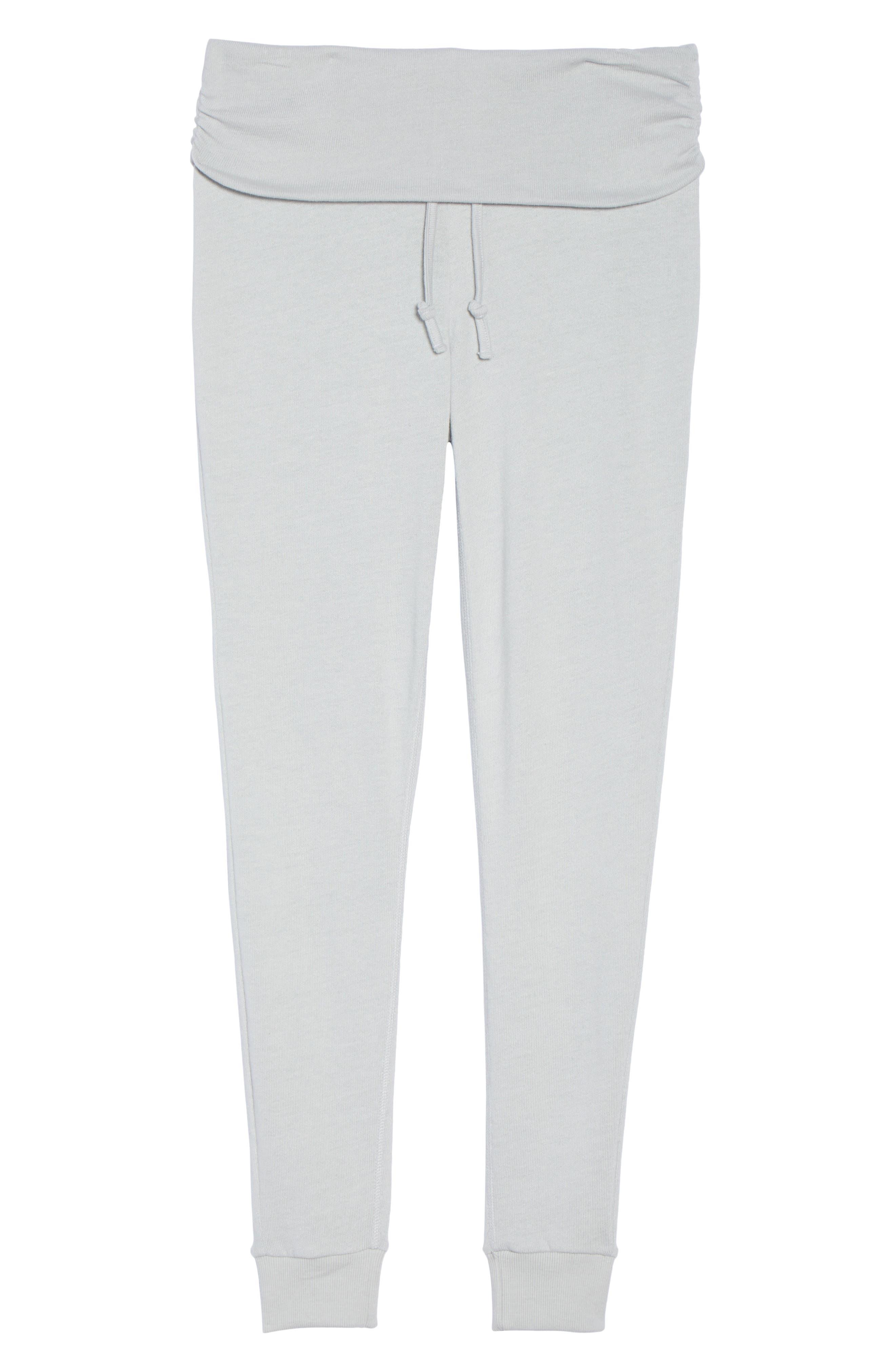 Slow Jogger Pants,                             Alternate thumbnail 4, color,                             Light Grey