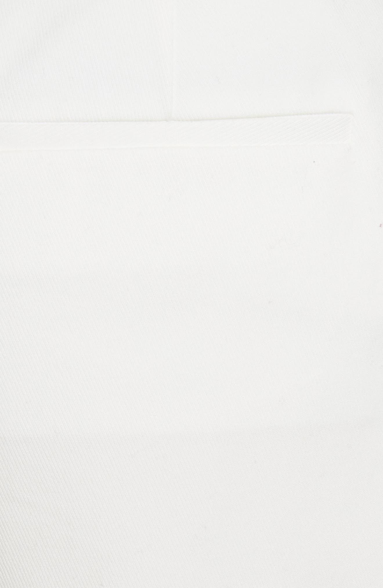 Stretch Cotton Sailor Shorts,                             Alternate thumbnail 5, color,                             Star White