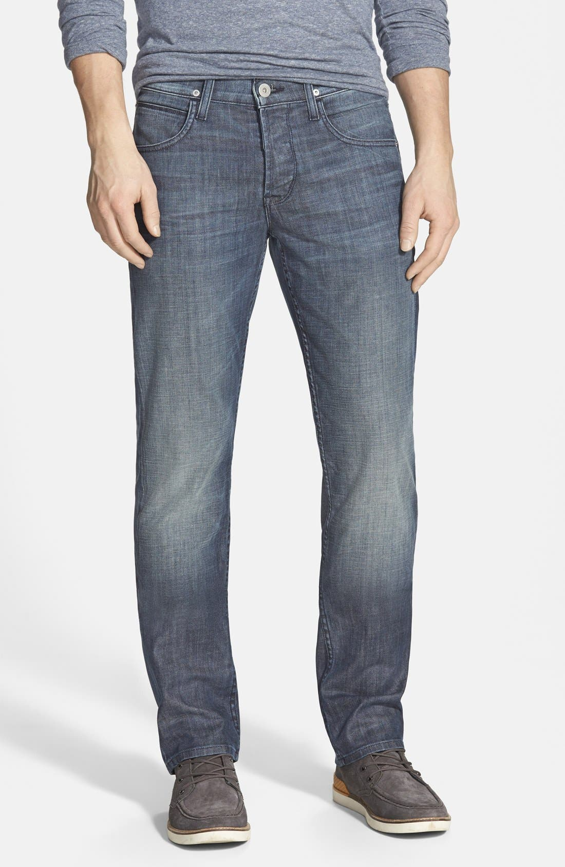 Alternate Image 1 Selected - Hudson Jeans 'Byron' Slim Straight Leg Jeans (Commander)