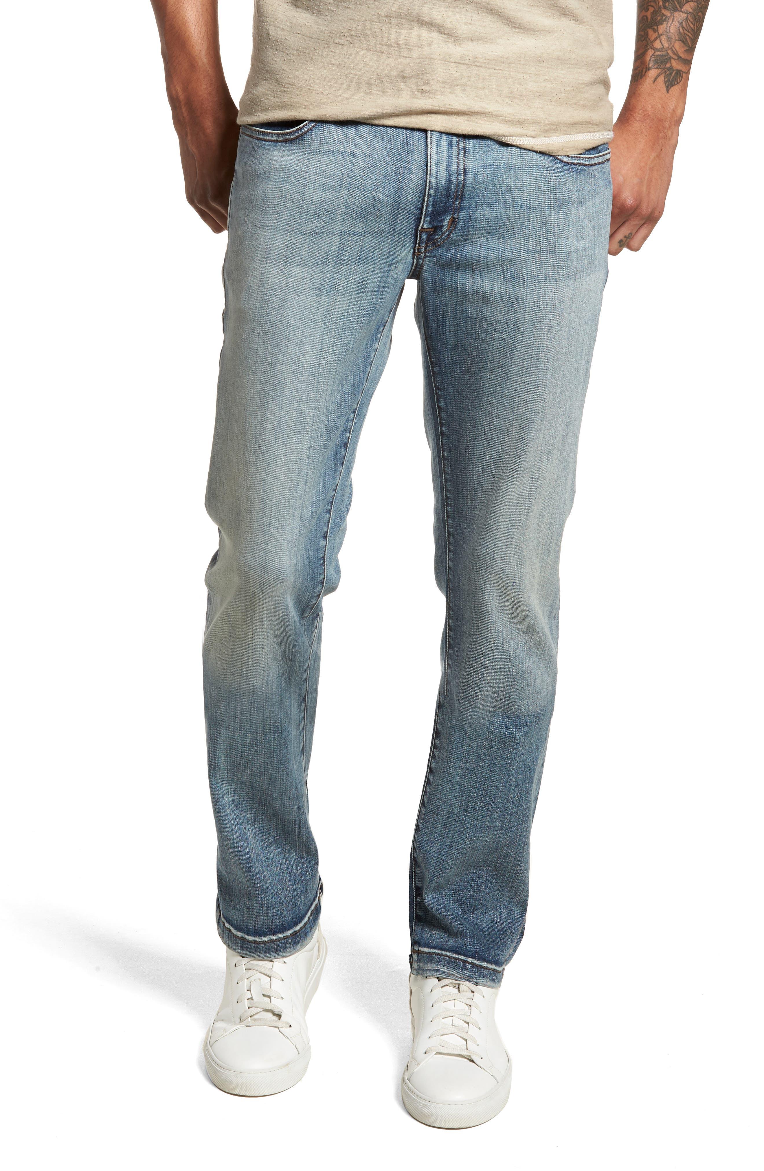 Fidelity Denim Jimmy Slim Fit Jeans (Santana Blue)