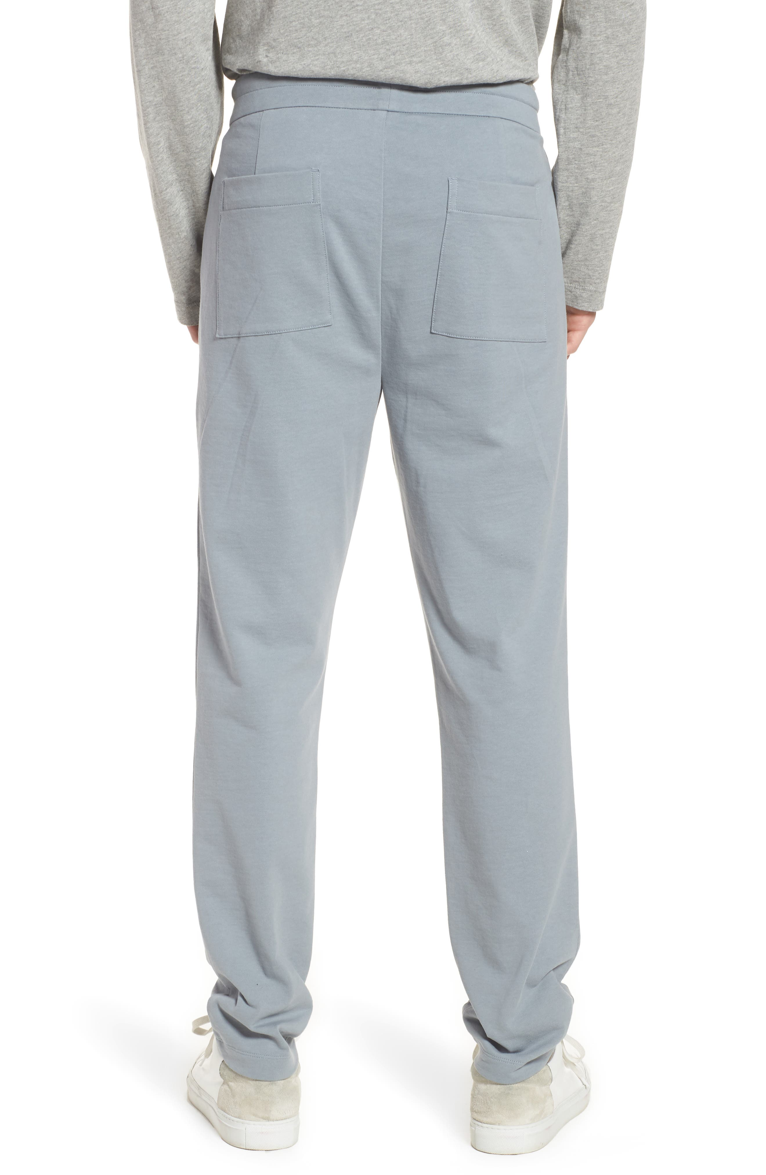 Cotton Pants,                             Alternate thumbnail 2, color,                             Grey Sky/ Light Grey