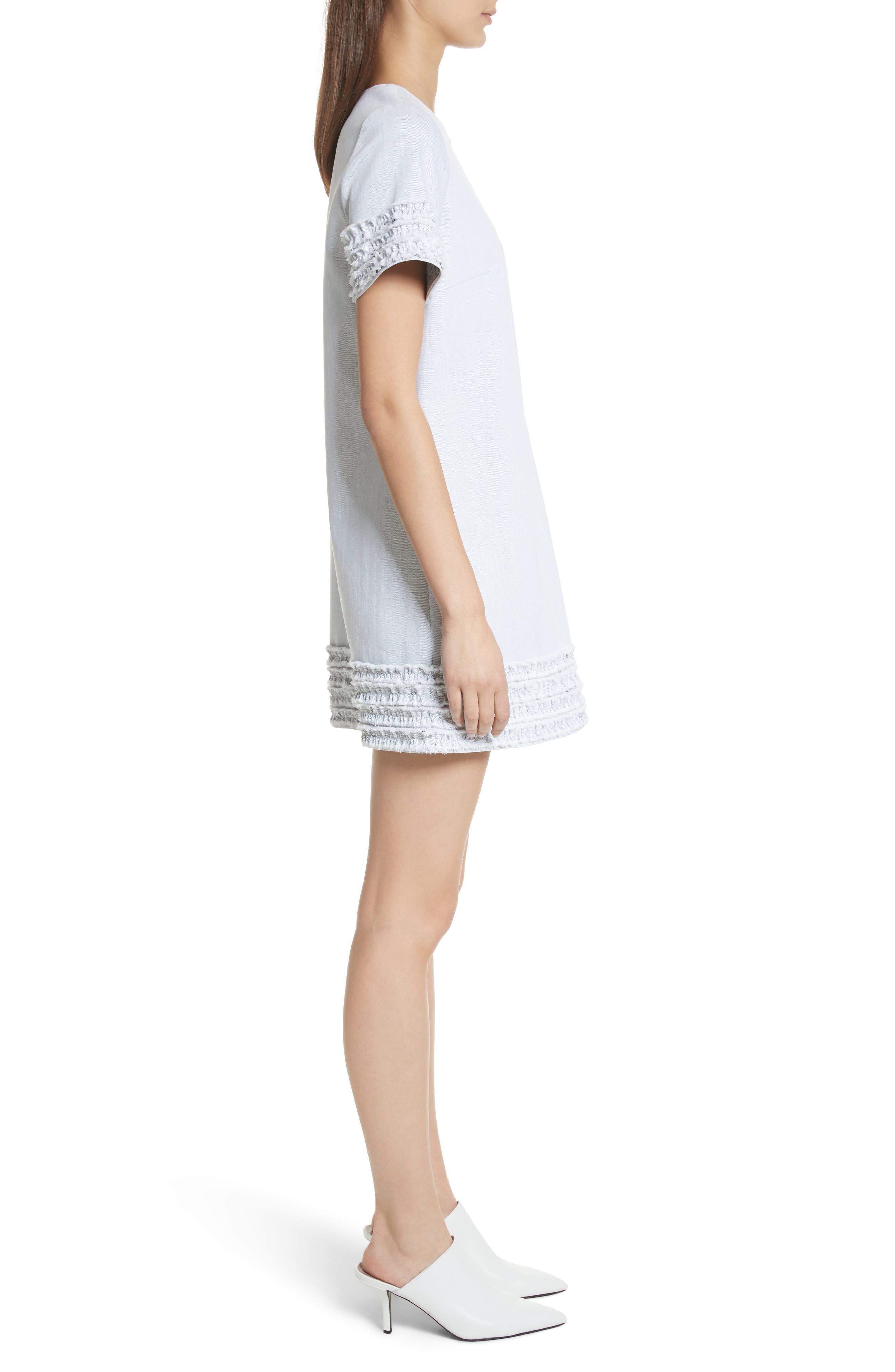 Ashton Dress,                             Alternate thumbnail 3, color,                             White