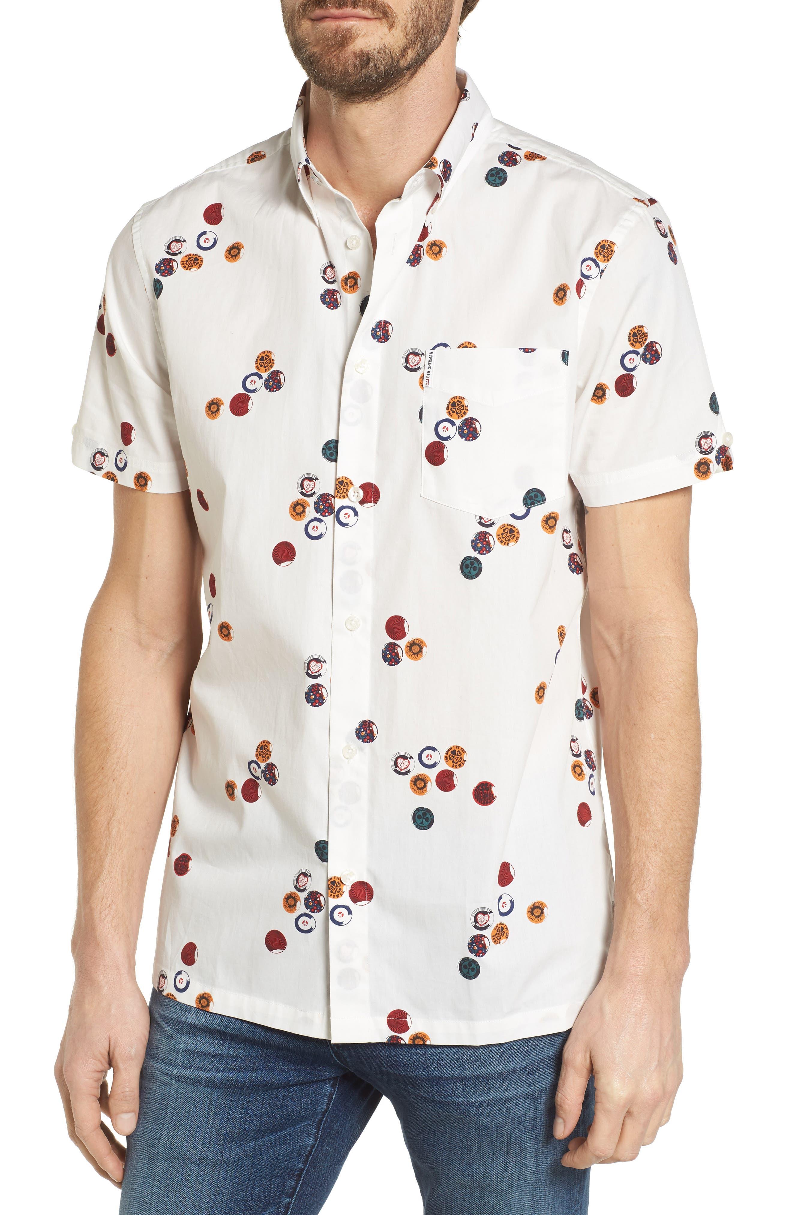 Ben Sherman Aquarius Archive Woven Shirt