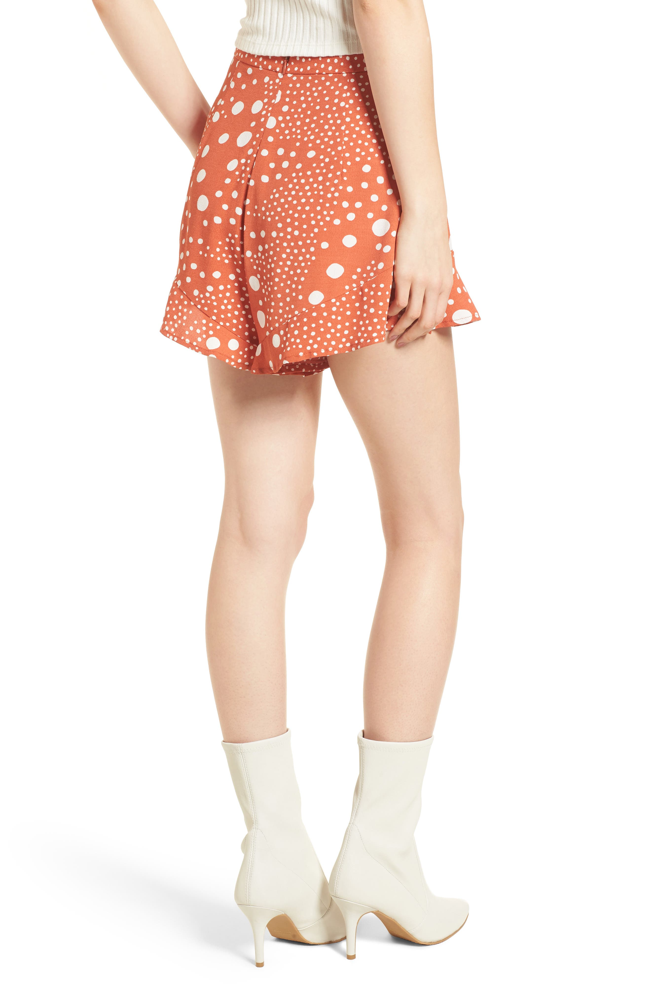 Alternate Image 4  - The Fifth Label Peppers Polka Dot Ruffle Hem Shorts