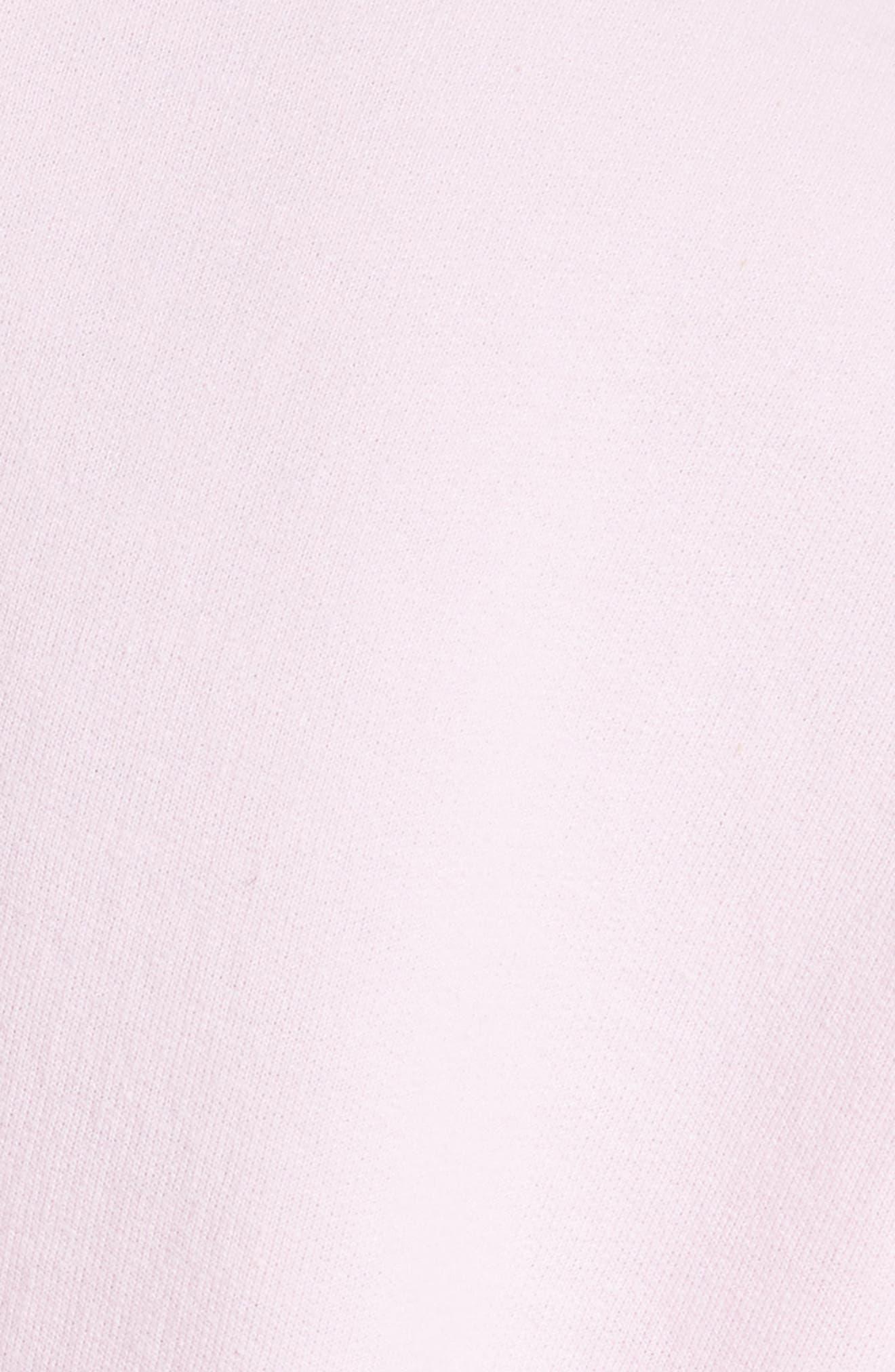 Alternate Image 5  - Harvey Faircloth Ruffle Detail Crop Sweatshirt