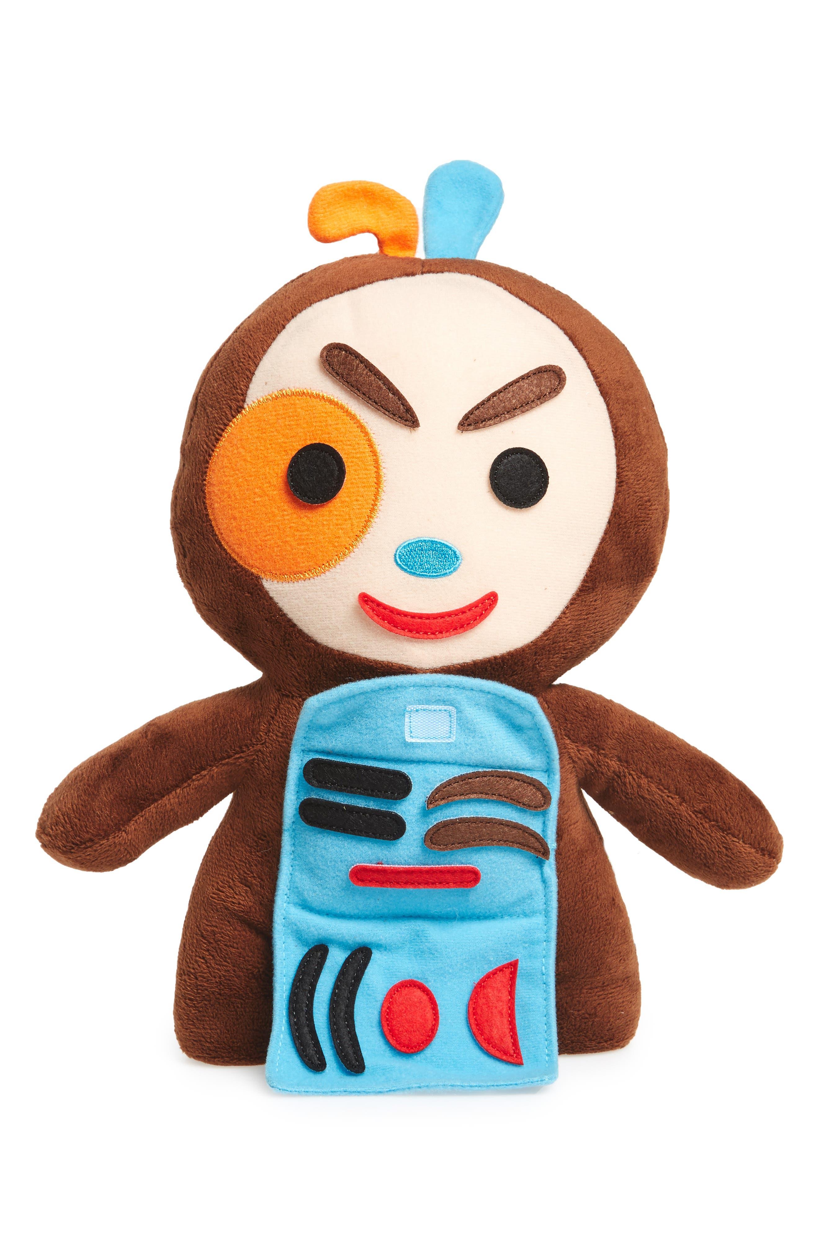 Feelings Friend Stuffed Doll,                             Alternate thumbnail 2, color,                             Brown