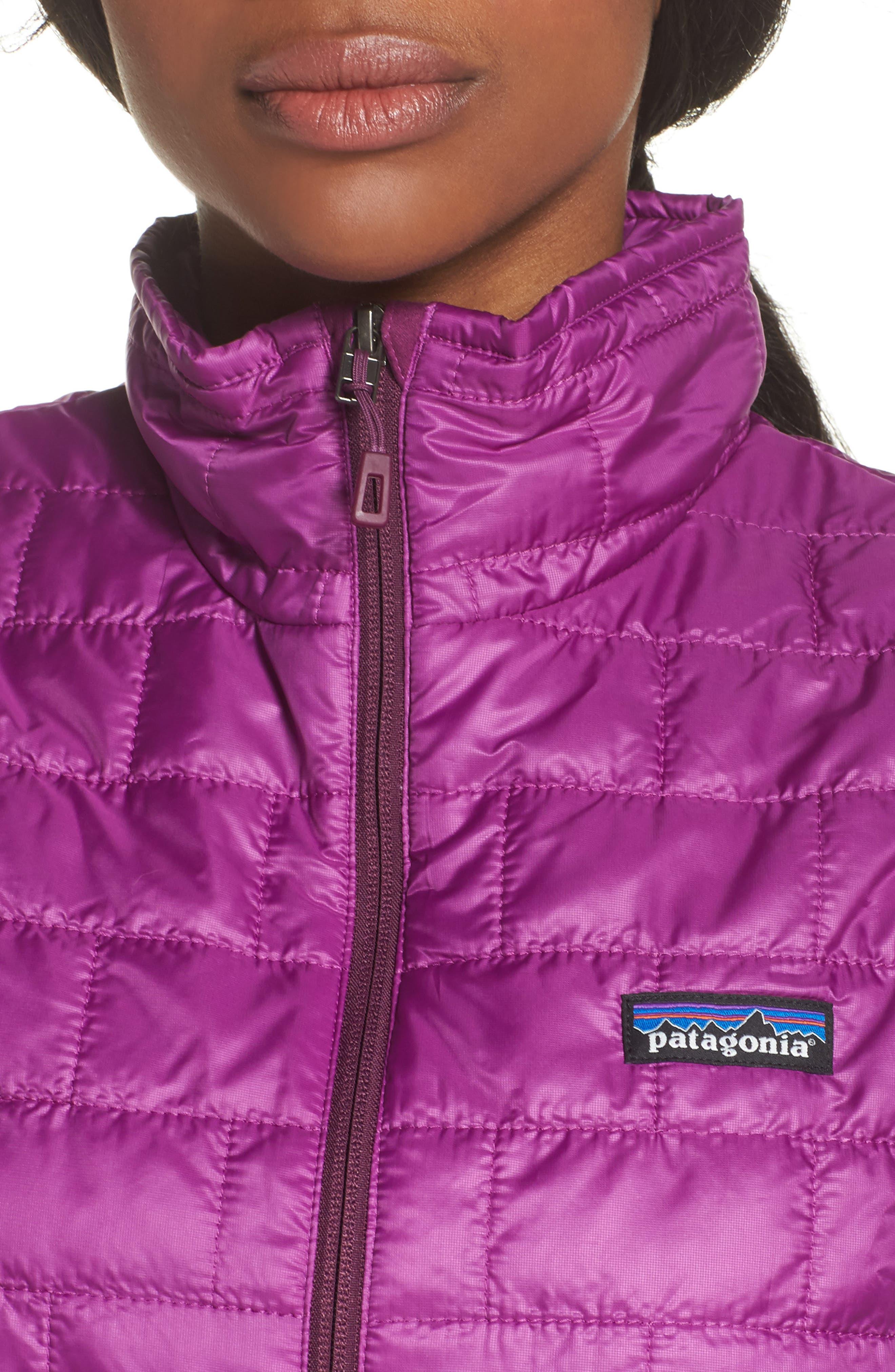 'Nano Puff<sup>®</sup>' Insulated Vest,                             Alternate thumbnail 4, color,                             Ikat Purple