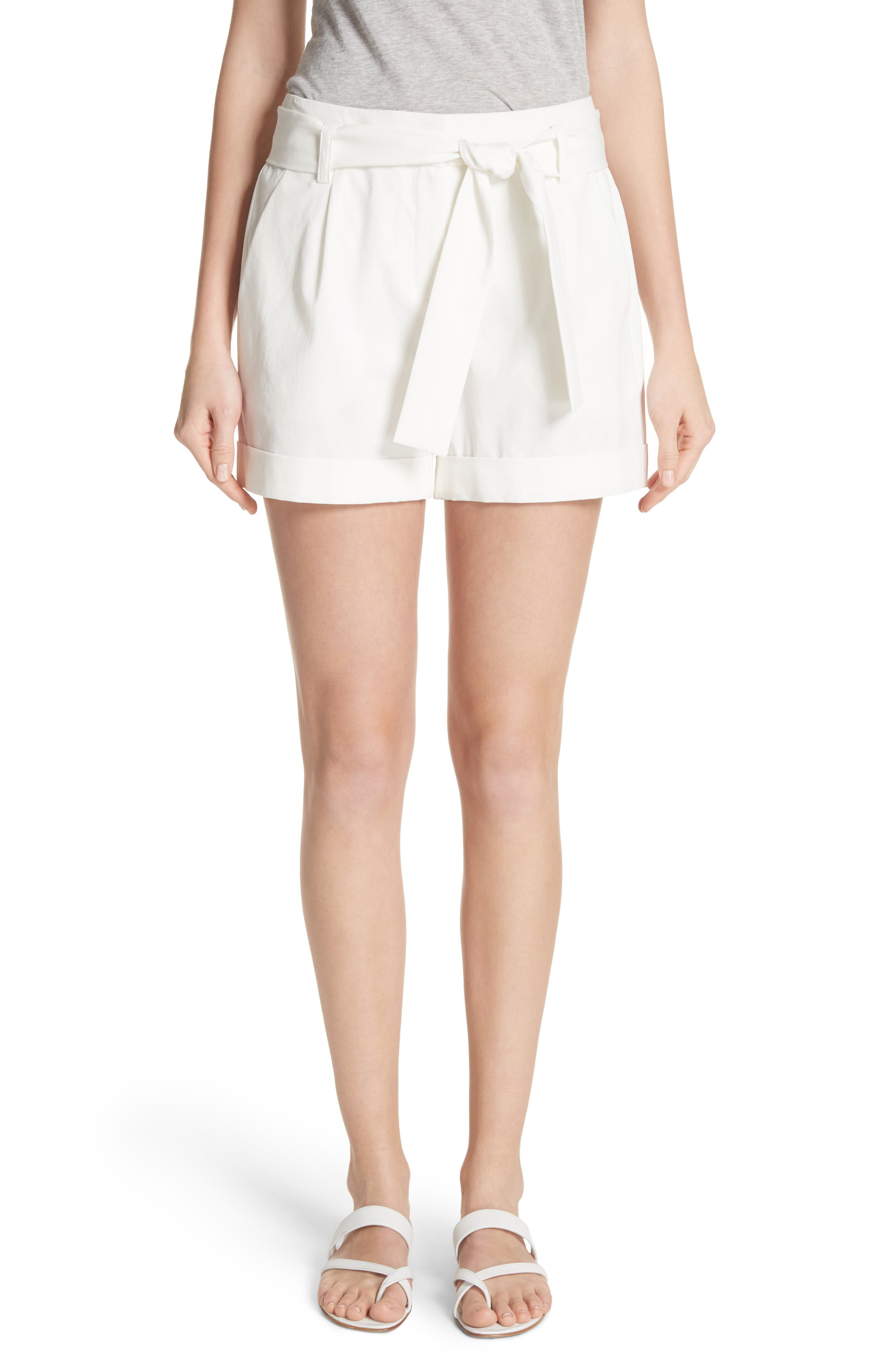 Greenpoint City Shorts,                         Main,                         color, White