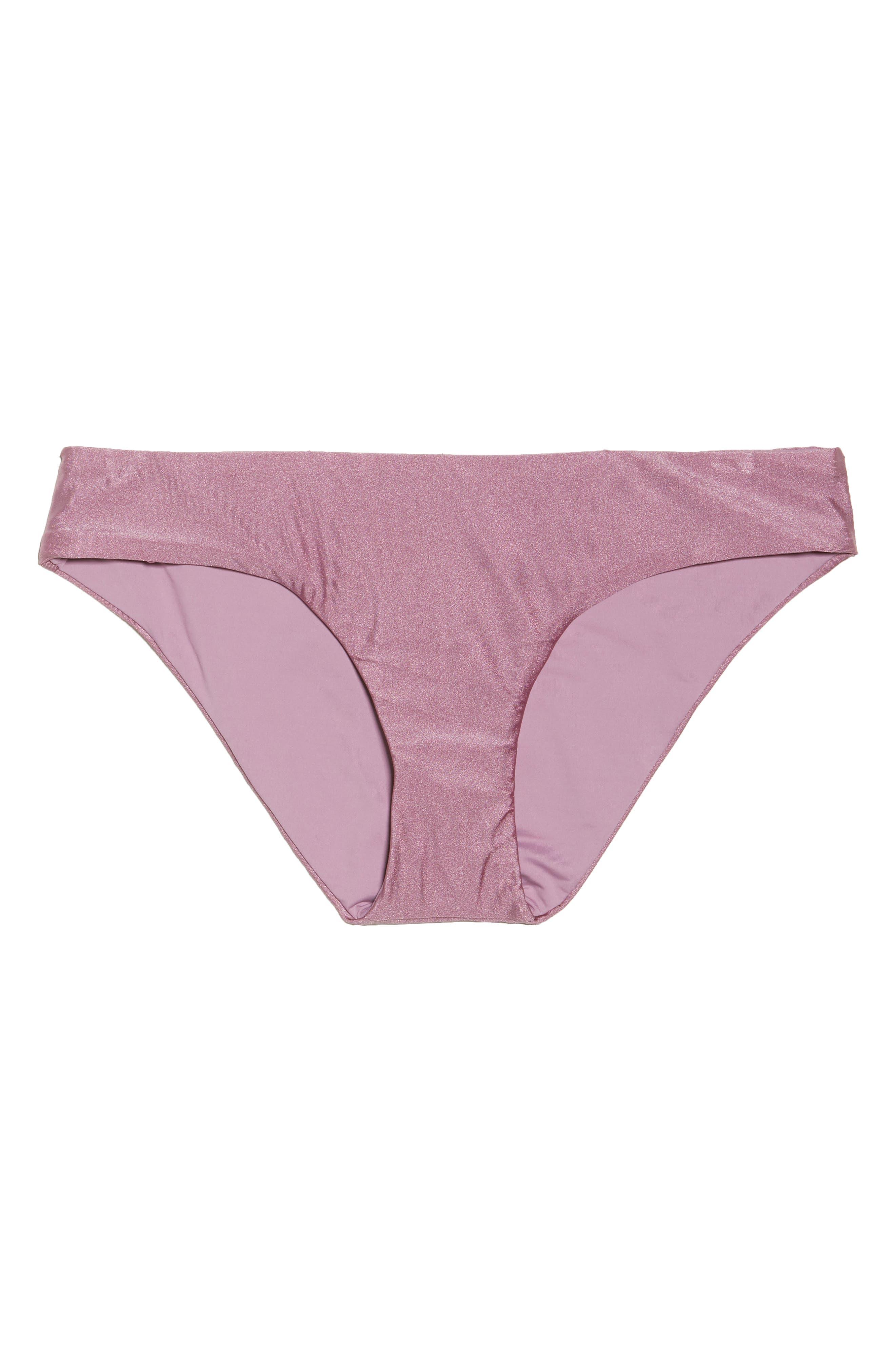 Ballerina Bikini Bottoms,                             Alternate thumbnail 8, color,                             Mauve