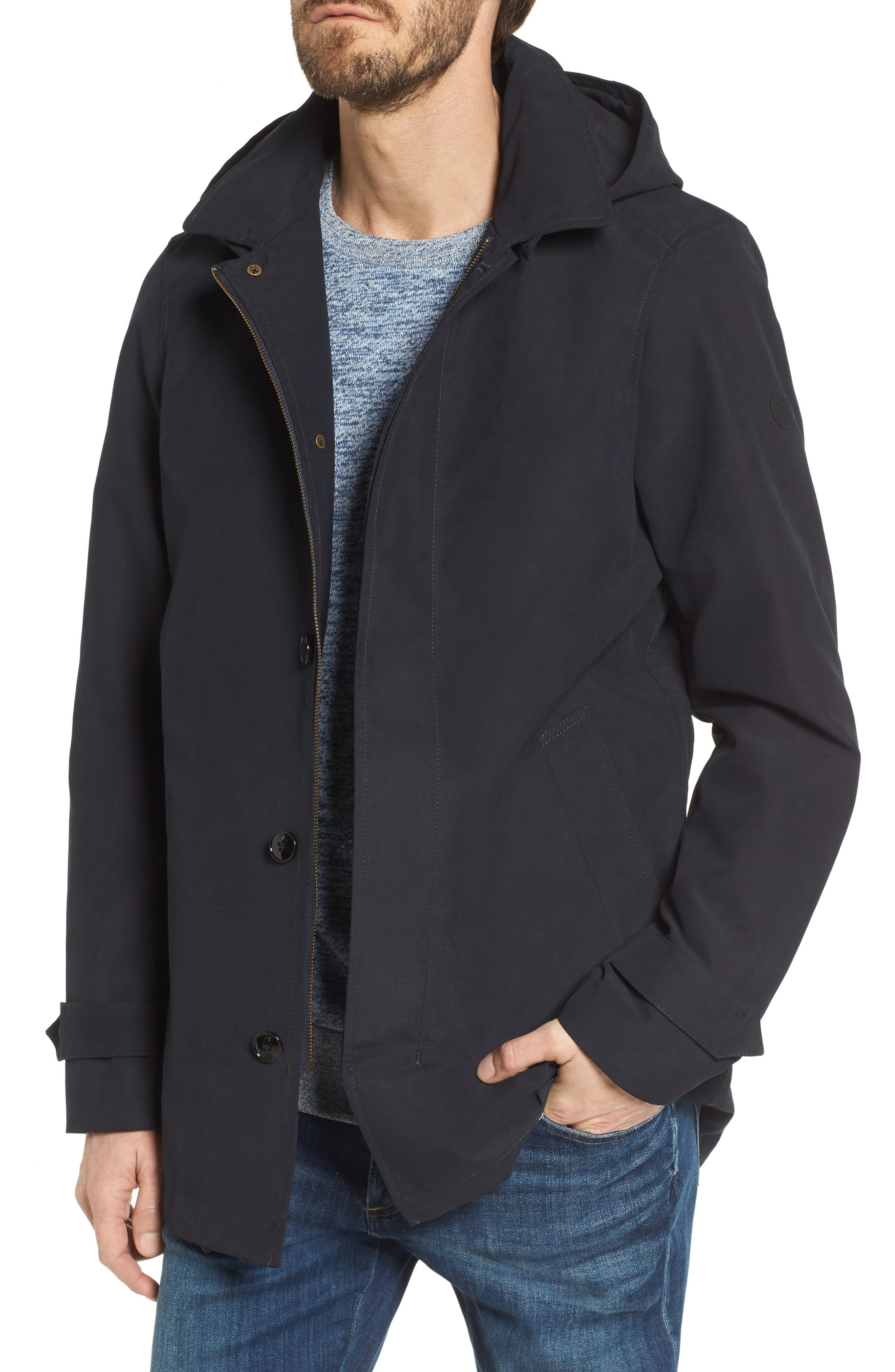 Classic Hooded Parka,                             Main thumbnail 1, color,                             Night