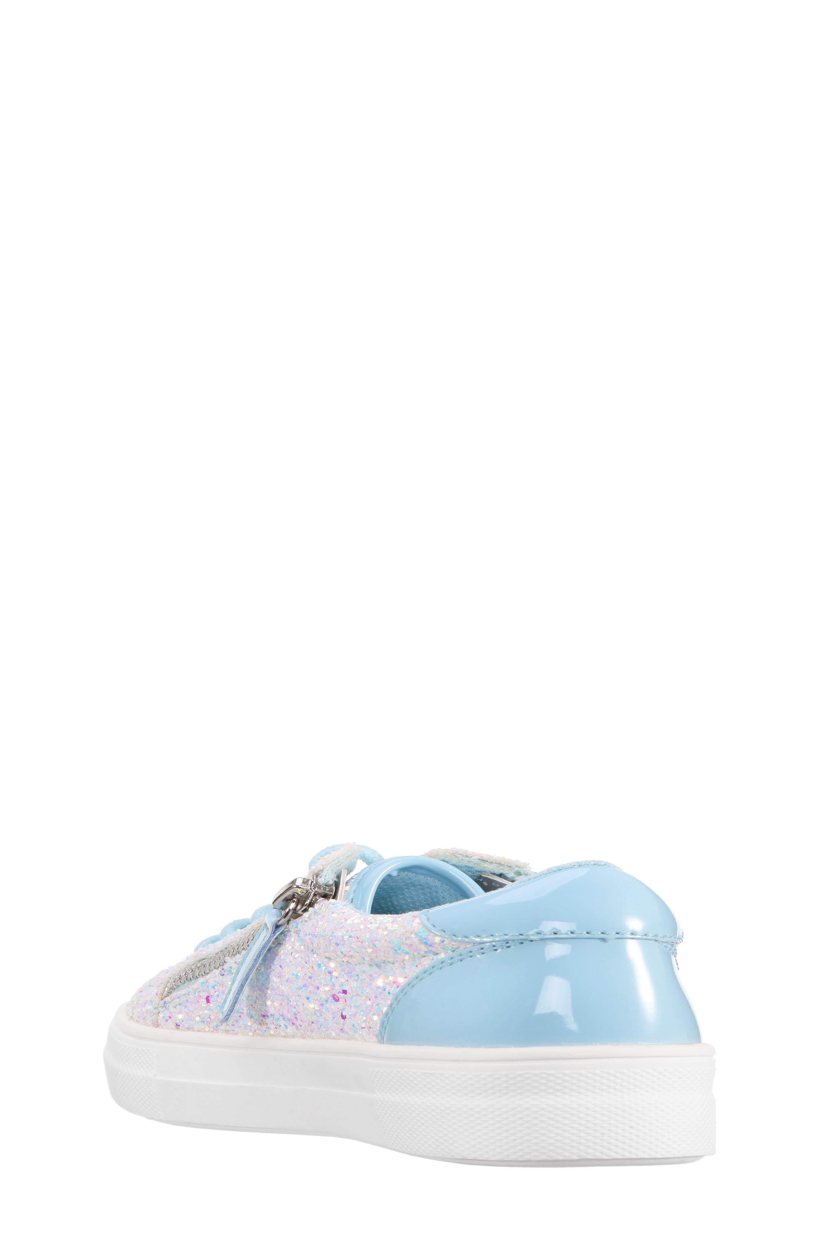 Alternate Image 2  - Nina Jennalyn Glitter Sneaker (Toddler, Little Kid & Big Kid)
