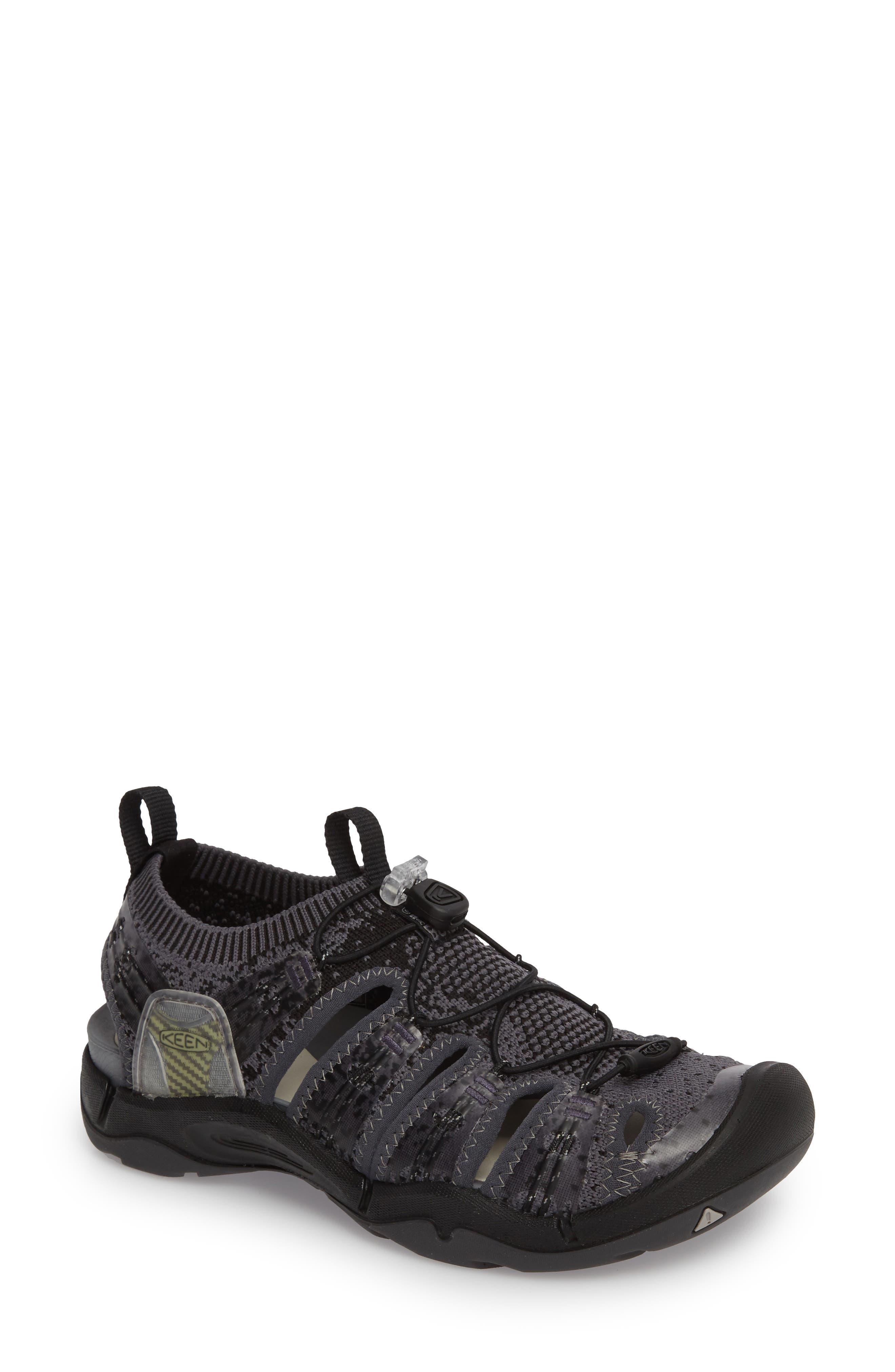 EVOFIT One Sandal,                         Main,                         color, Heathered Black/ Magnet