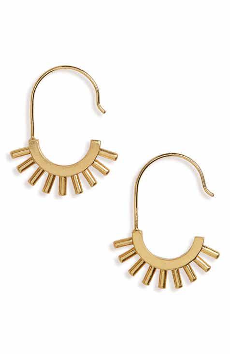 Madewell Succulent Drop Earrings