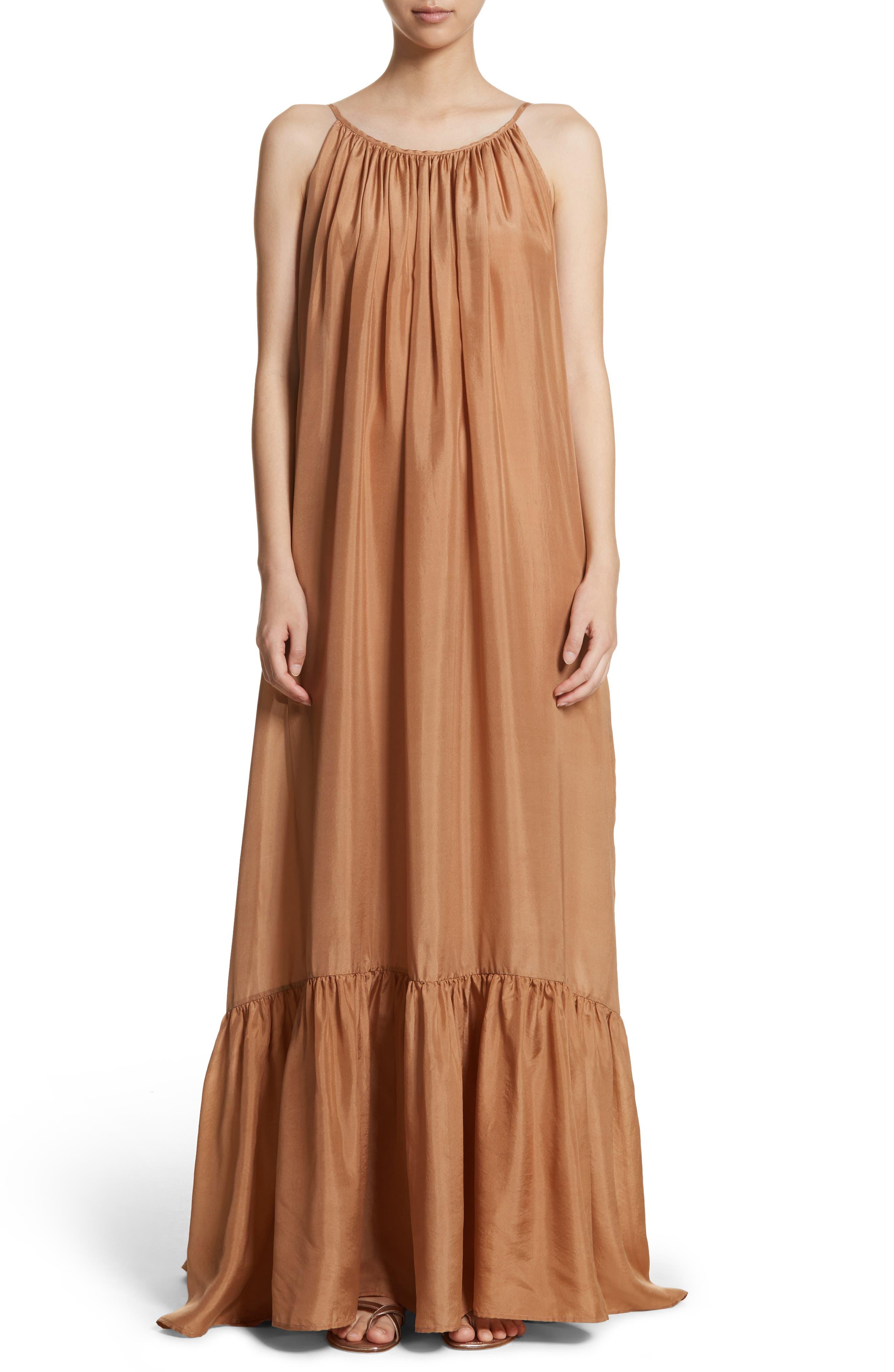 Kalita Brigitte Silk Maxi Dress