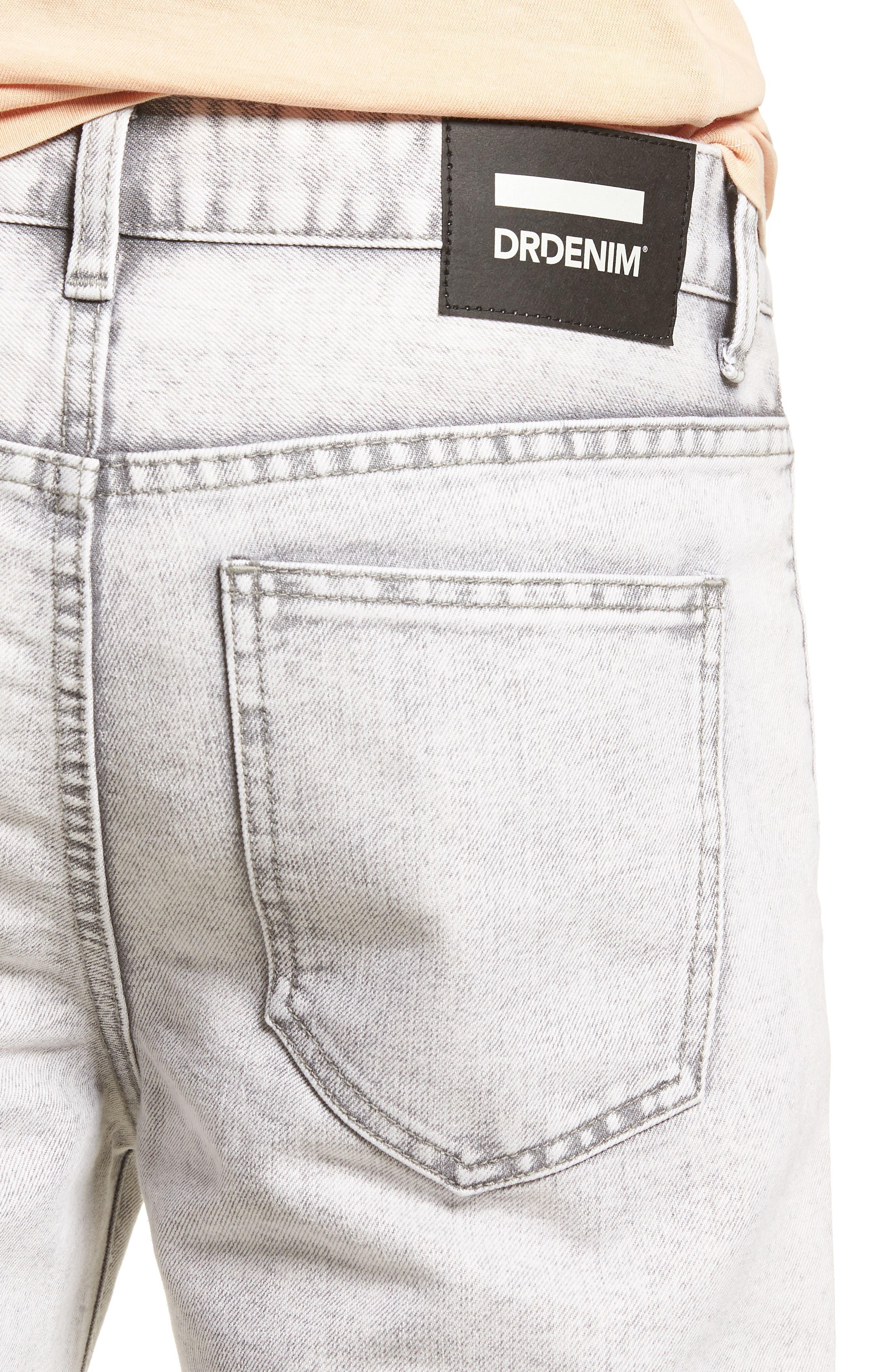 Dr. Denim Jeansmaker Otis Straight Fit Jeans,                             Alternate thumbnail 4, color,                             Dirty White